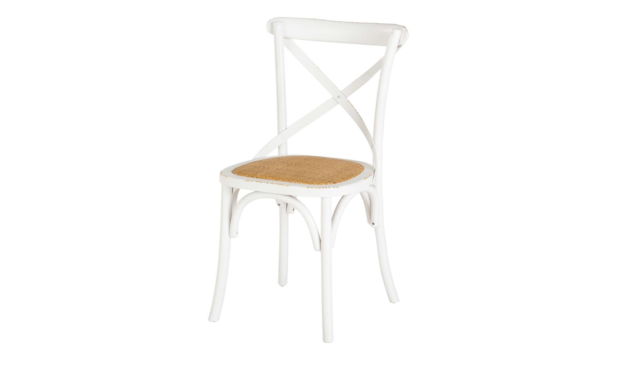 Holz Stuhl Im Used Look Weiss Bei Mobel Kraft Online Kaufen