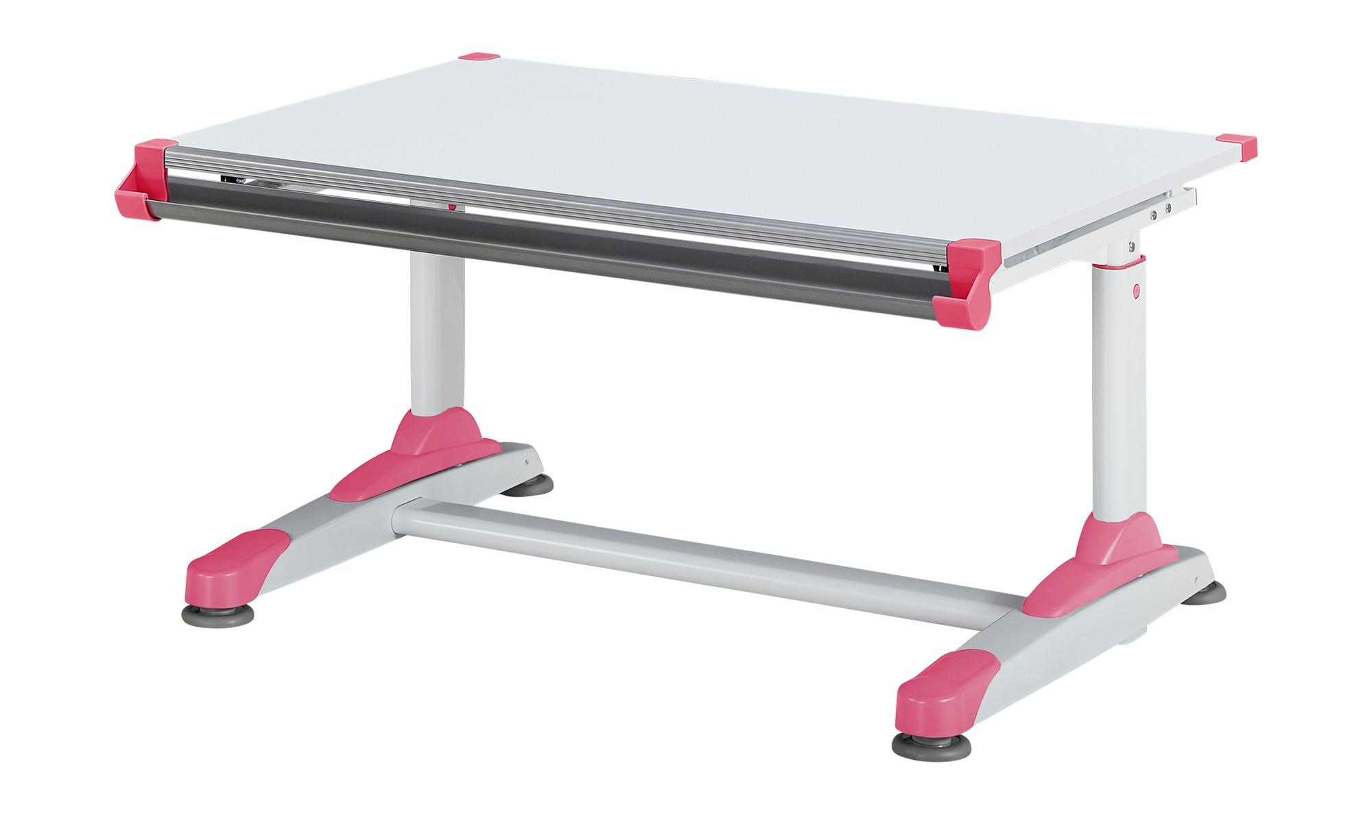 Schülerschreibtisch - weiß - 100 cm - 66 cm - Tische > Bürotische - Möbel Kraft   Kinderzimmer > Kindertische > Kinderschreibtische   Sconto