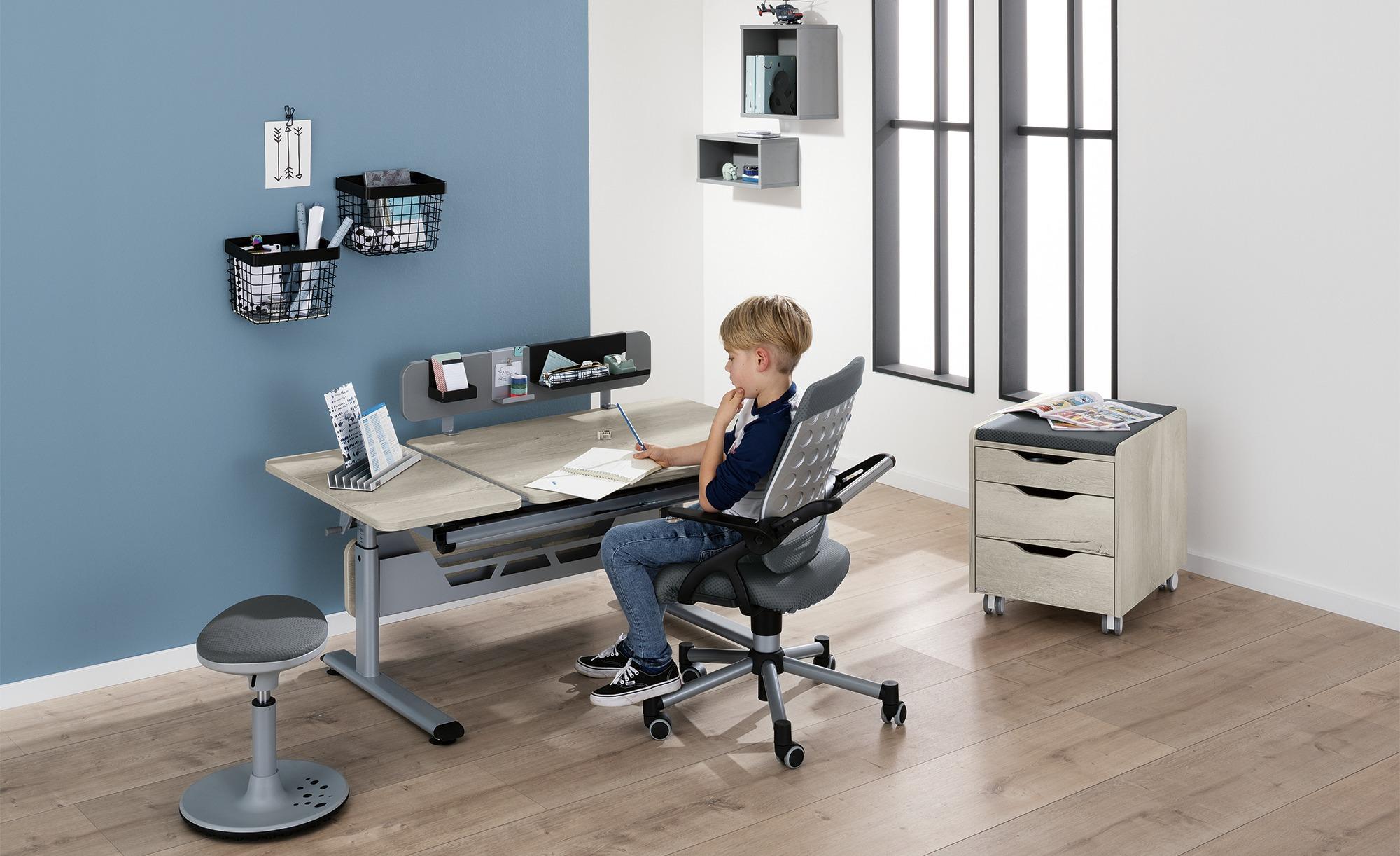PAIDI Schülerschreibtisch  Diego GT - holzfarben - 130 cm - 53 cm - 70 cm - Tische > Bürotische - Möbel Kraft | Büro > Bürotische > Schreibtische | PAIDI