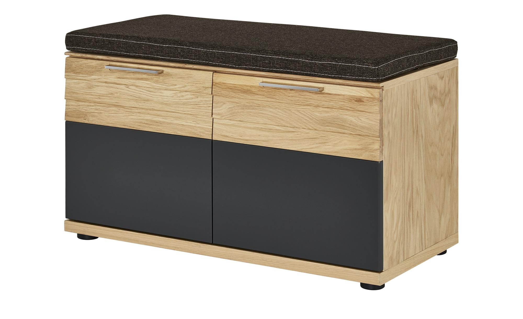 Garderobenbank - holzfarben - 85 cm - 45 cm - 40 cm - Bänke > Einzelbänke - Möbel Kraft | Flur & Diele > Garderoben > Garderobenbänke | Möbel Kraft