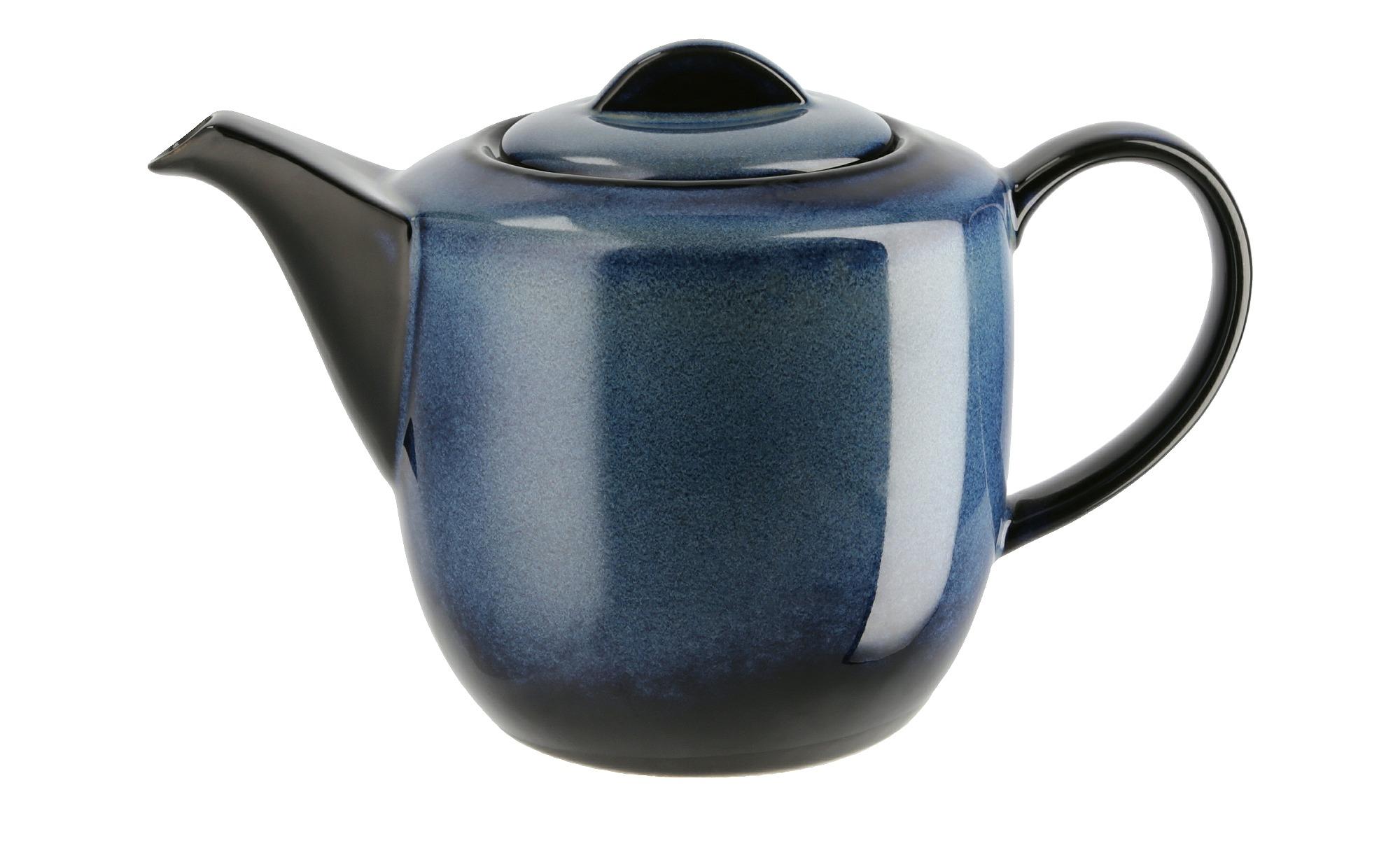 Peill+Putzler Teekanne  Azuro - blau - Porzellan - 12,4 cm - 13,5 cm - Kaffee & Tee > Teekannen - Möbel Kraft | Küche und Esszimmer > Kaffee und Tee > Teekocher | Peill+Putzler