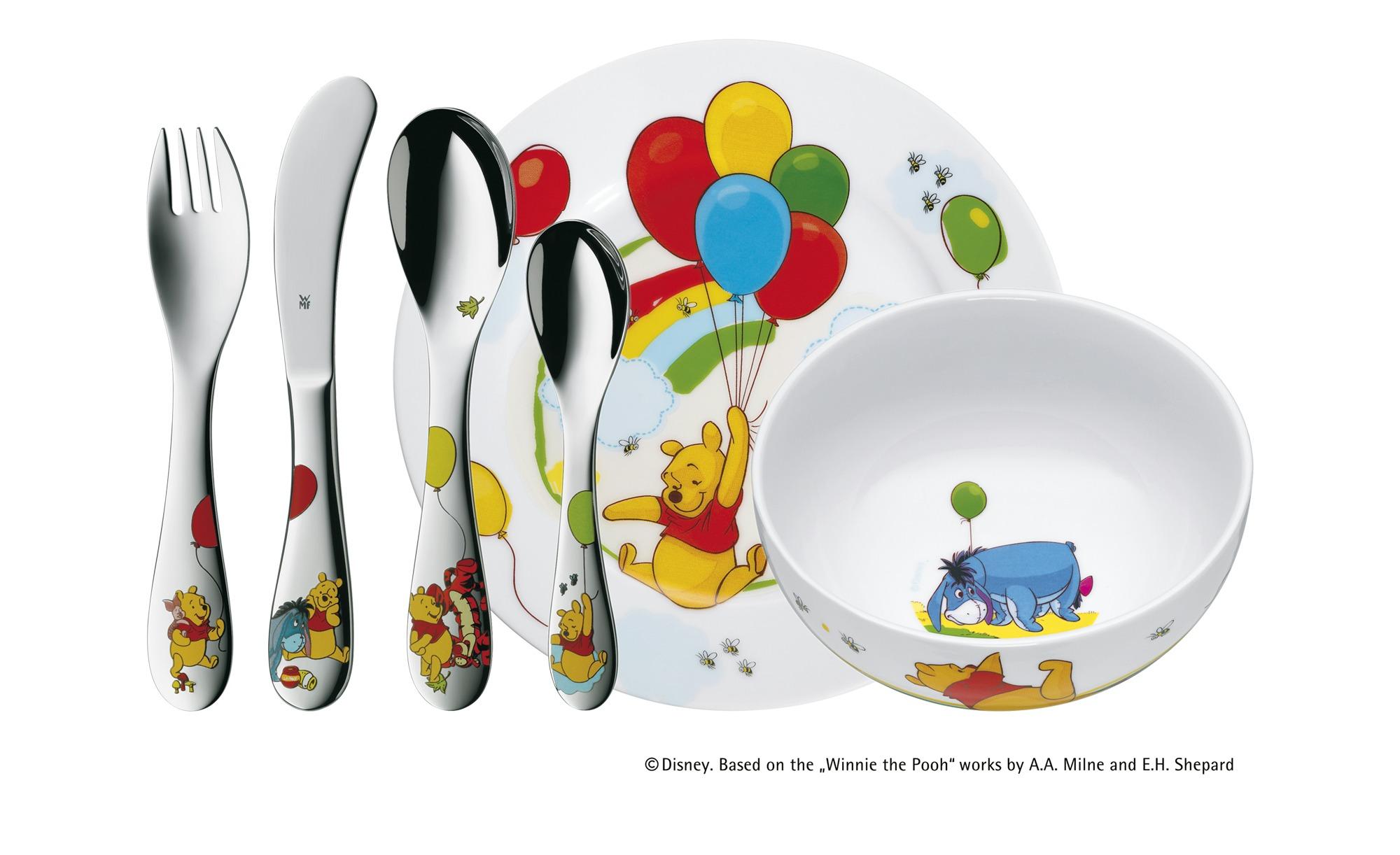 WMF Kindergeschirr 6-teilig Winnie the Pooh, gefunden bei Möbel Kraft