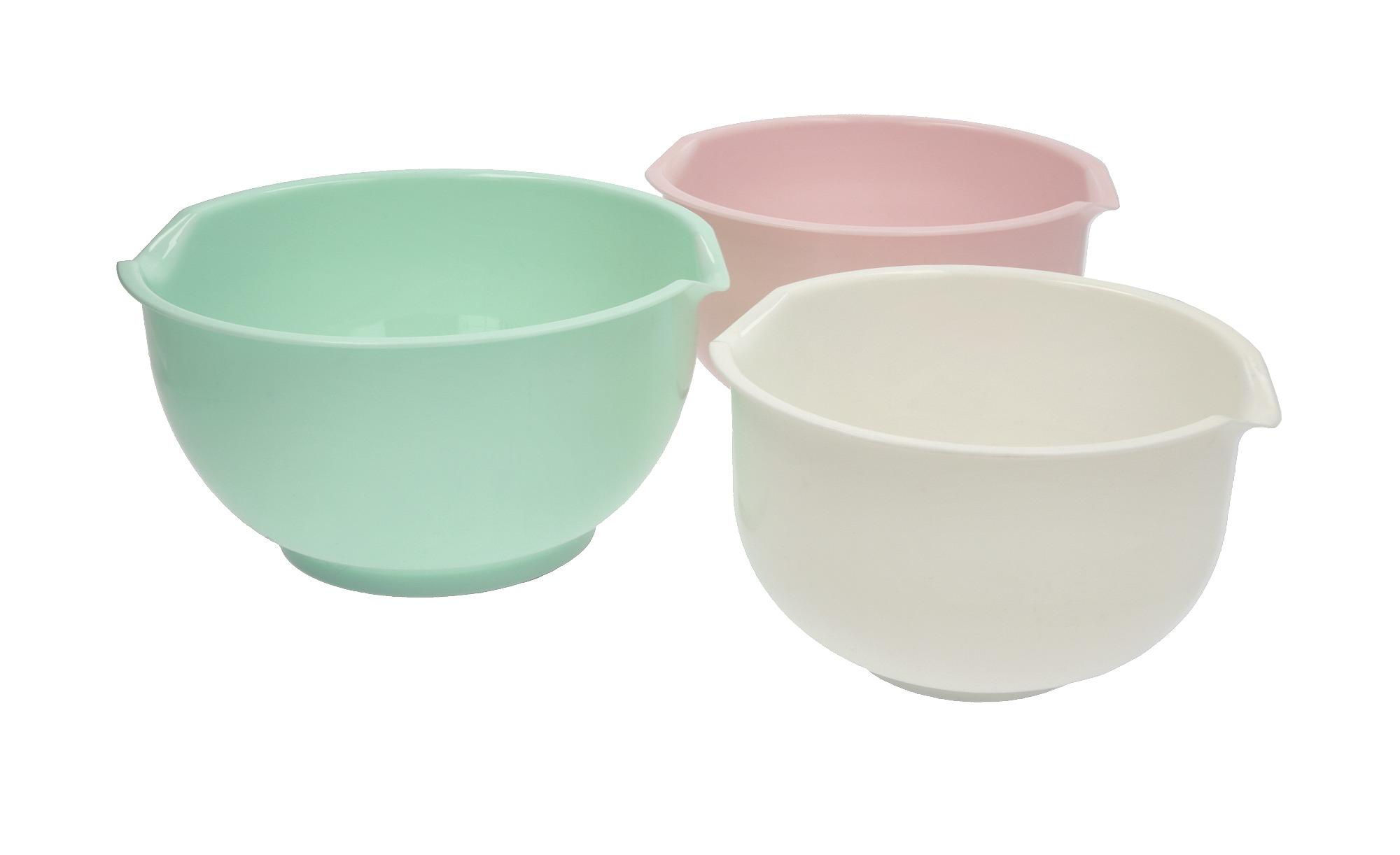 for friends Rührschüssel-Set 3-teilig - mehrfarbig - Kunststoff - Küchenzub günstig online kaufen