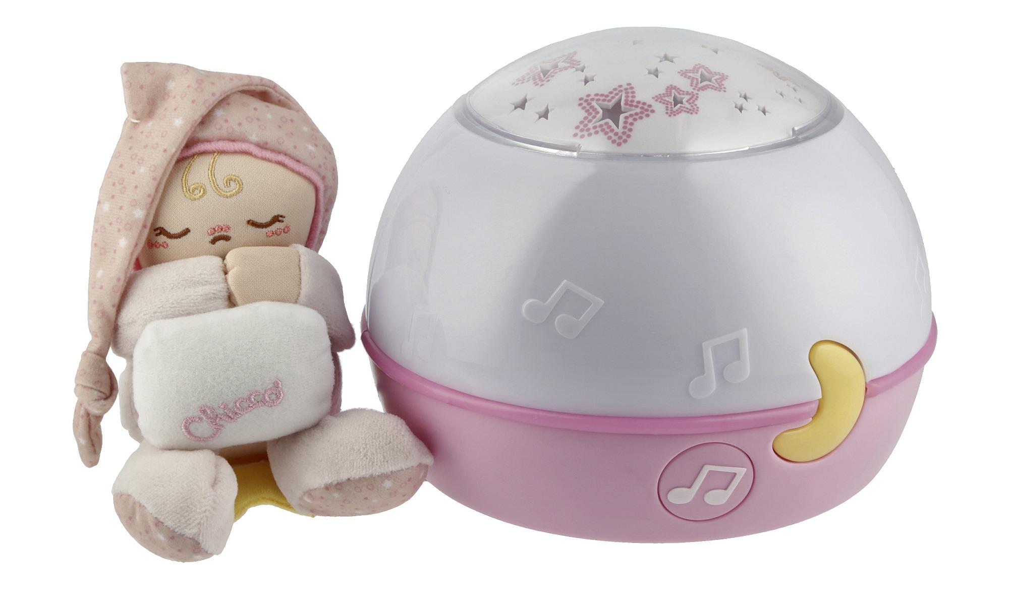 Chicco Nachtlicht mit Musik   Sternenhimmel Projektor - rosa/pink - Kunststoff - Baby > Spielen - Möbel Kraft | Lampen > Kinderzimmerlampen | Chicco