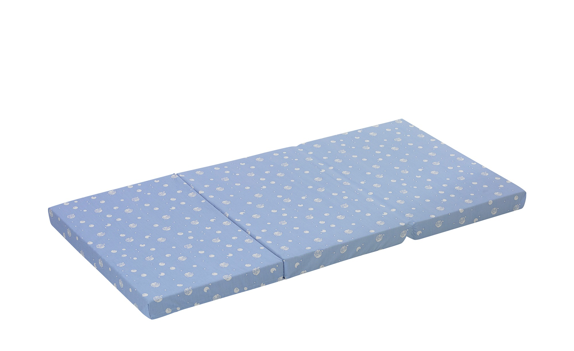 Alvi Reisebettmatratze   Standard - blau - Bezug: 100% Baumwolle, Tragetasche: 100% Polyester , Kern: Schaumstoff - 60 cm - Baby > Babymöbel > Babymatratzen - Möbel Kraft | Kinderzimmer | Alvi