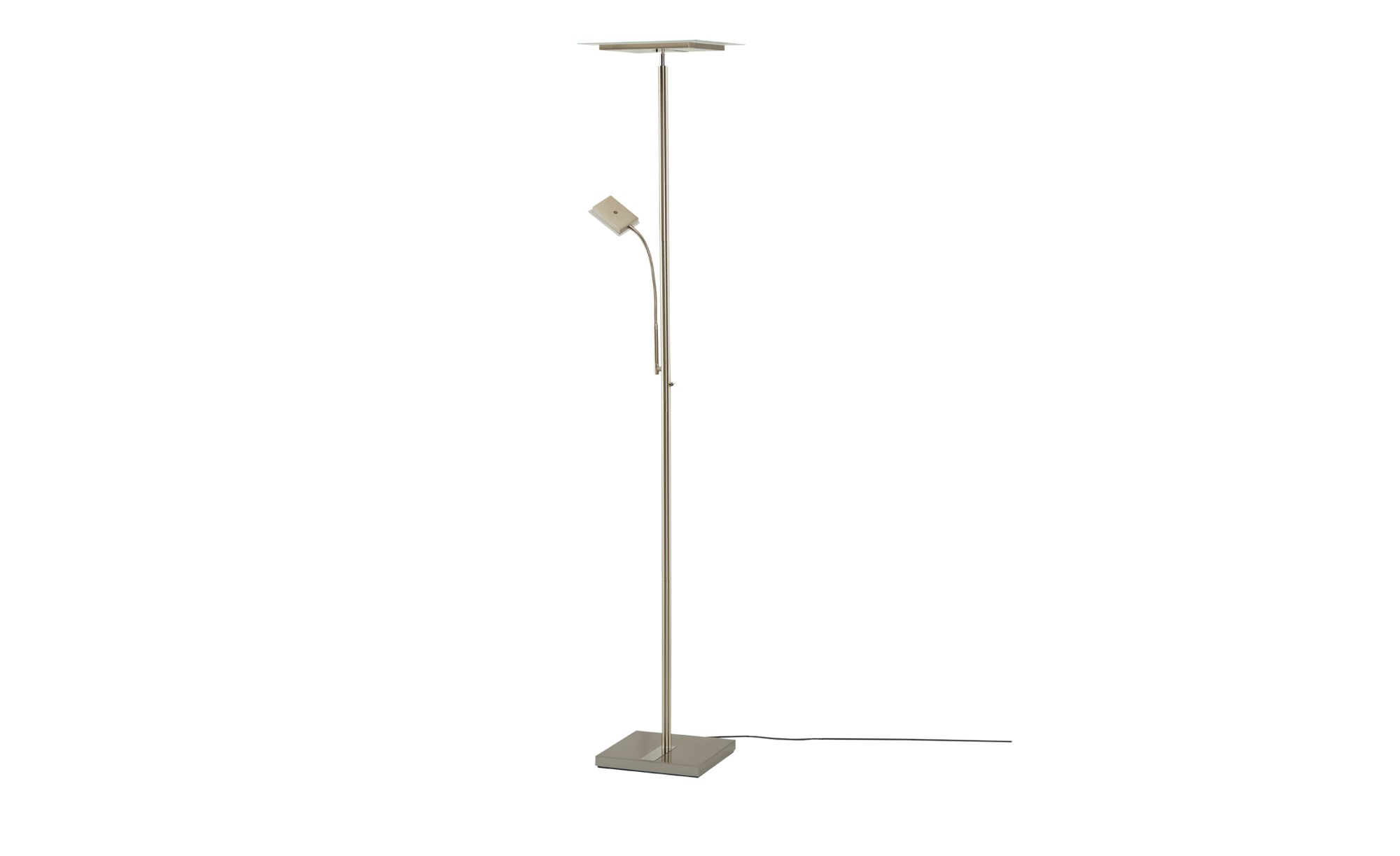 Paul Sommerkamp Leuchten LED-Deckenfluter mit Fernbedienung - silber - 180 cm - Lampen & Leuchten > Innenleuchten > Deckenfluter - Möbel Kraft | Lampen > Stehlampen > Deckenfluter | Paul Sommerkamp Leuchten