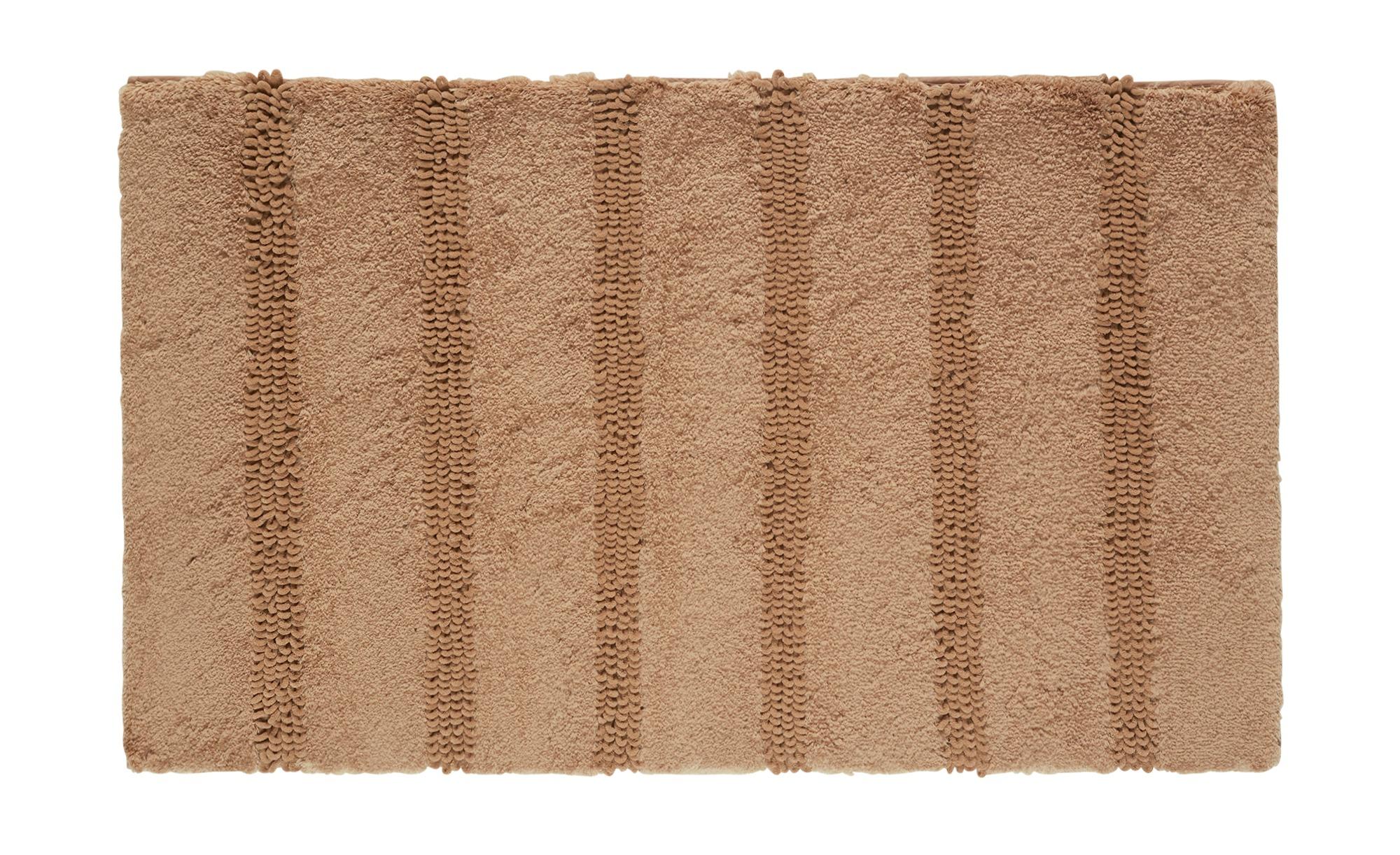 Kleine Wolke Badteppich  Monrovia - braun - 100% Polyester - 60 cm - Heimte günstig online kaufen