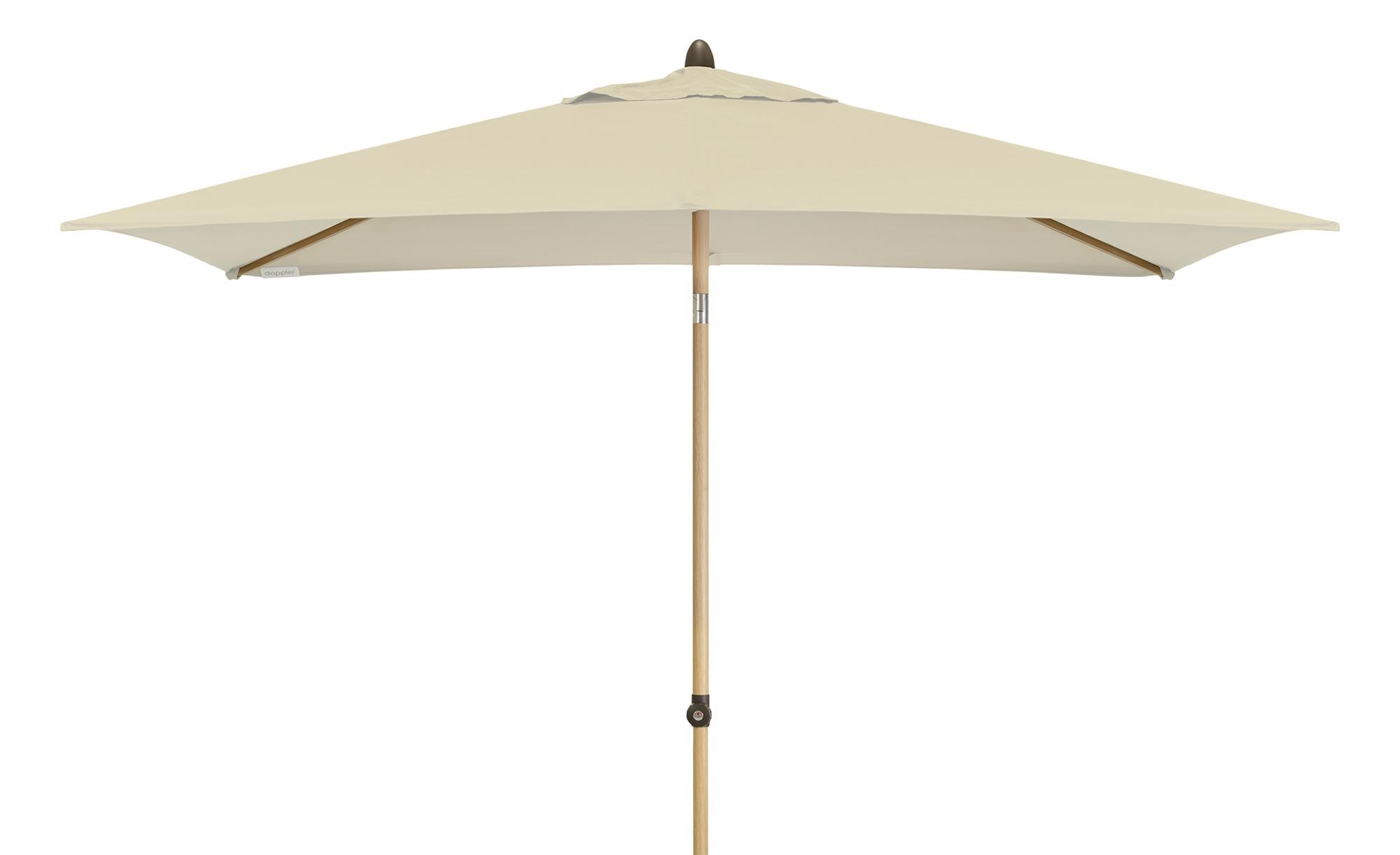 Sonnenschirm - beige - 200 cm - Garten > Sonnenschutz > Sonnenschirme - Möbel Kraft   Garten > Sonnenschirme und Markisen > Sonnenschirme   Möbel Kraft