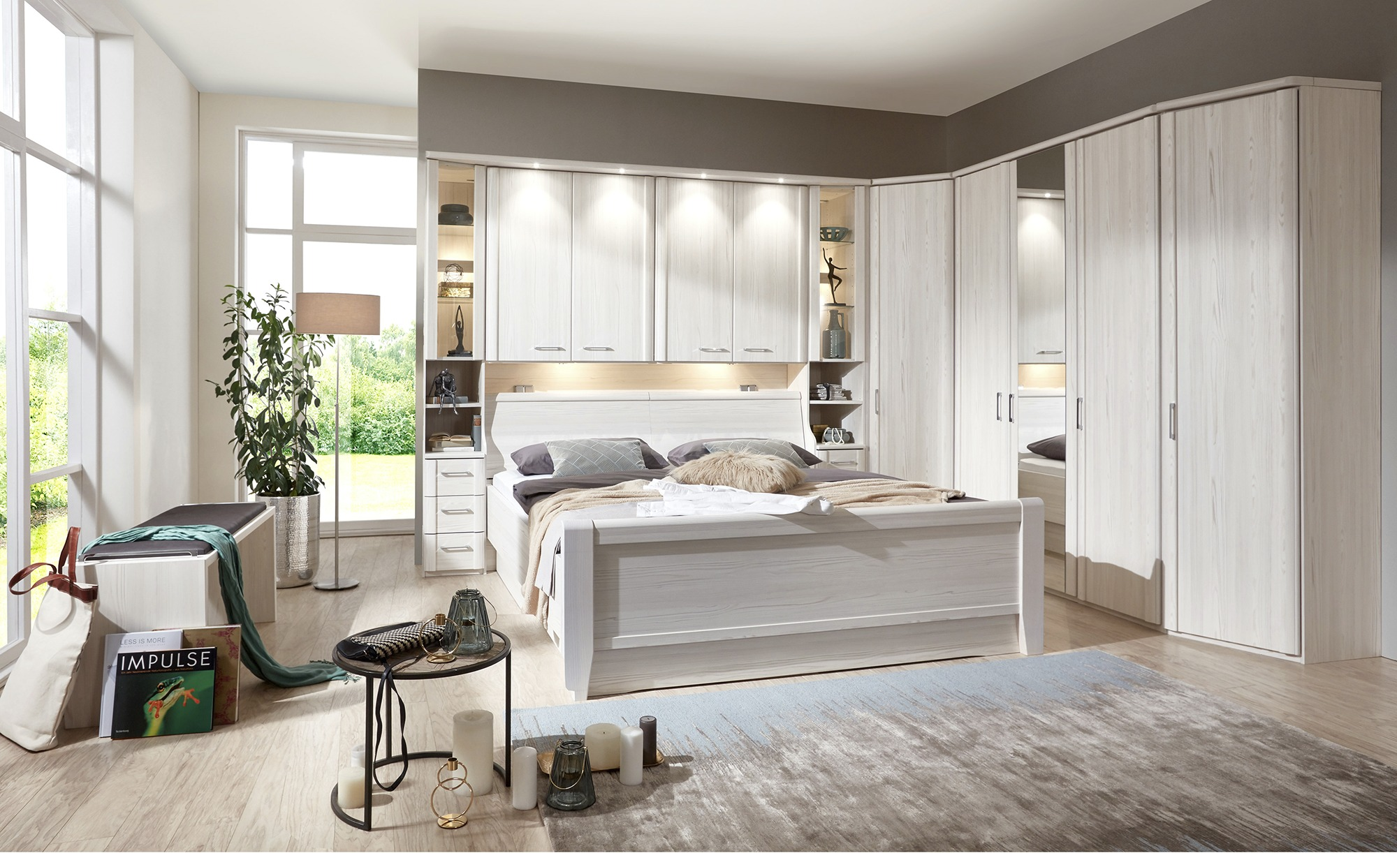 Komplett-Schlafzimmer, gefunden bei Möbel Kraft