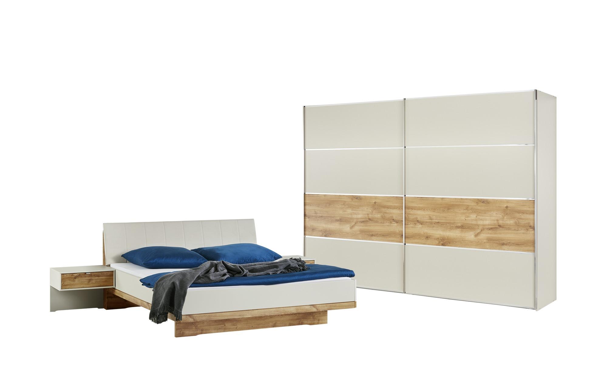 uno Komplett Schlafzimmer 4-teilig Keva - holzfarben - 300 ...