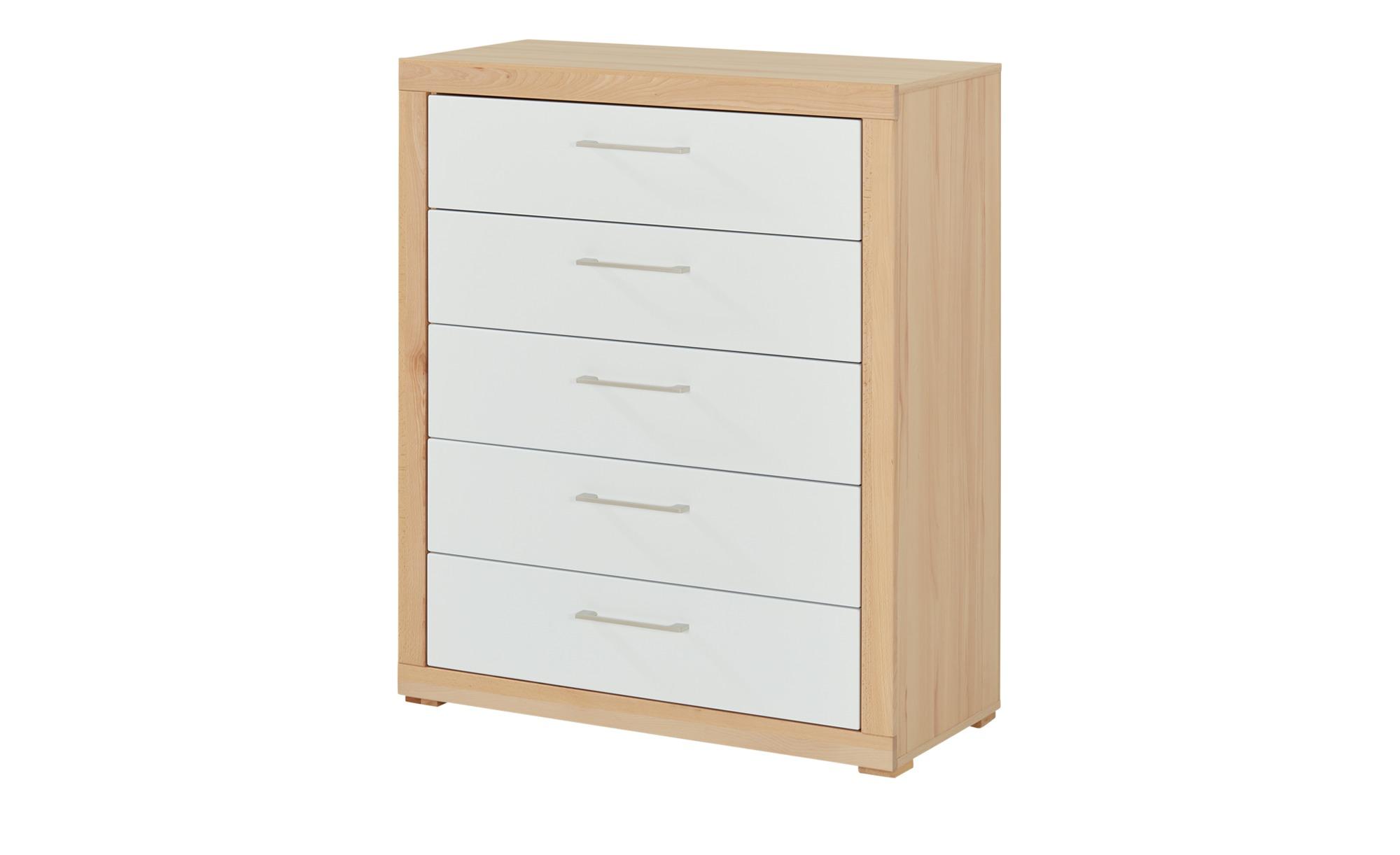 smart Kommode  Oslo 2.0 - holzfarben - 91 cm - 109 cm - 42 cm - Kommoden & Sideboards > Kommoden - Möbel Kraft | Wohnzimmer > Schränke > Sideboards | smart