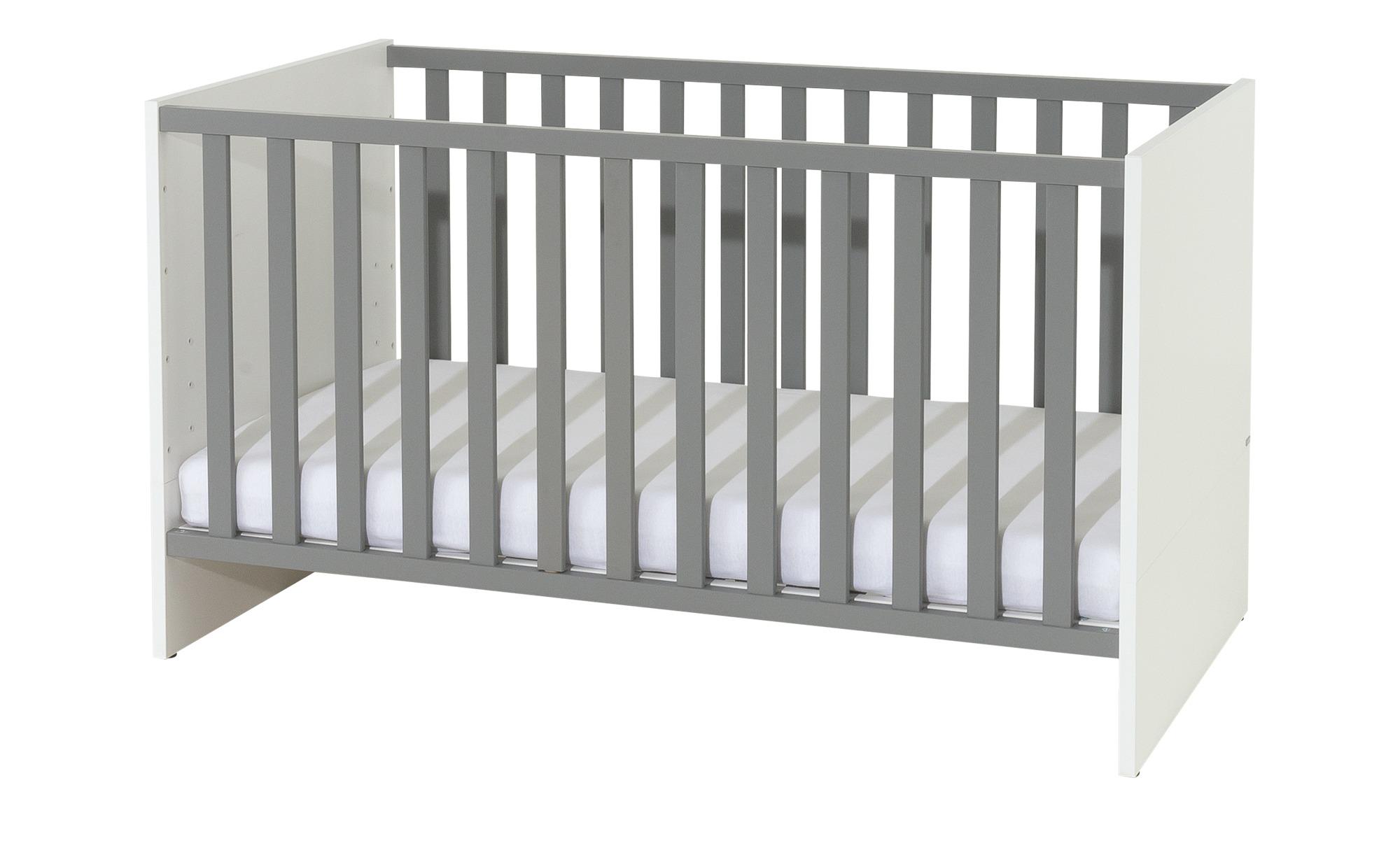 PAIDI Babybett  Kalea - weiß - 75,8 cm - 83,3 cm - Baby > Babymöbel > Babybetten - Möbel Kraft | Kinderzimmer > Babymöbel > Babybetten & Babywiegen | PAIDI