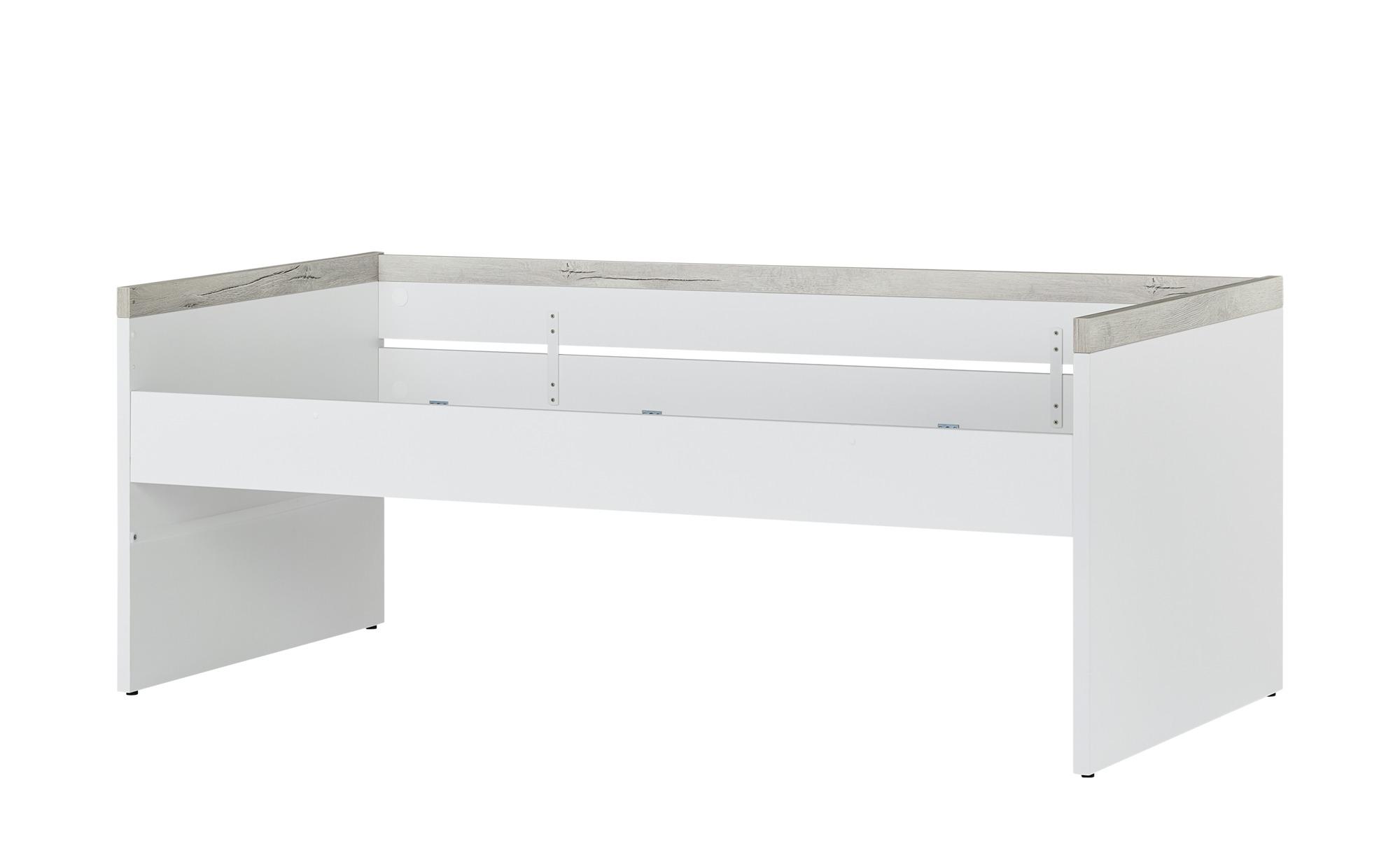 PAIDI Kojenbett  Kira - weiß - 206,1 cm - 95,7 cm - 80,8 cm - Betten > Bettgestelle - Möbel Kraft | Kinderzimmer > Jugendzimmer > Jugendbetten | PAIDI