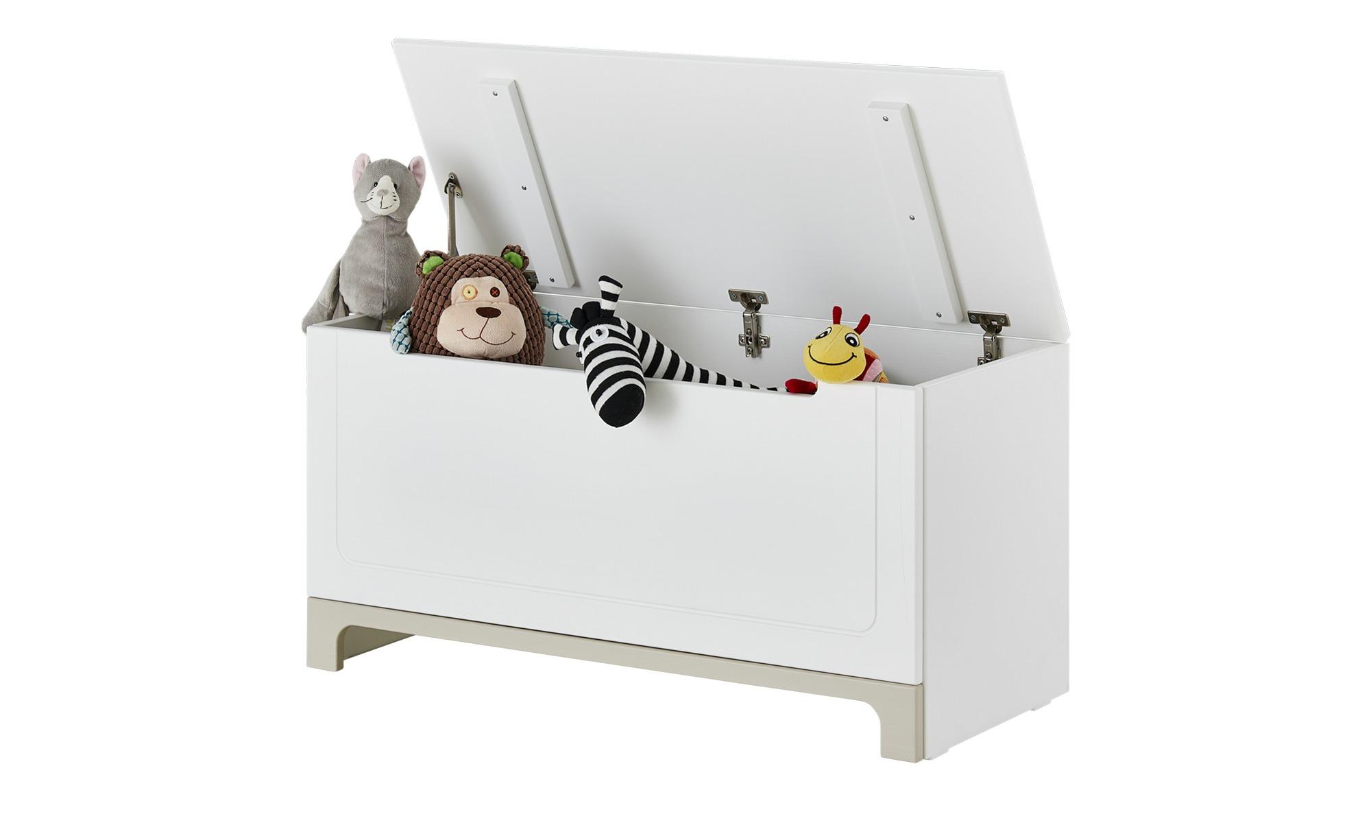 Spielzeugkiste - weiß - 43 cm - 50 cm - 43 cm - Aufbewahrung > Truhen & Kisten - Möbel Kraft   Kinderzimmer > Spielzeuge > Spielzeugkisten   Sconto