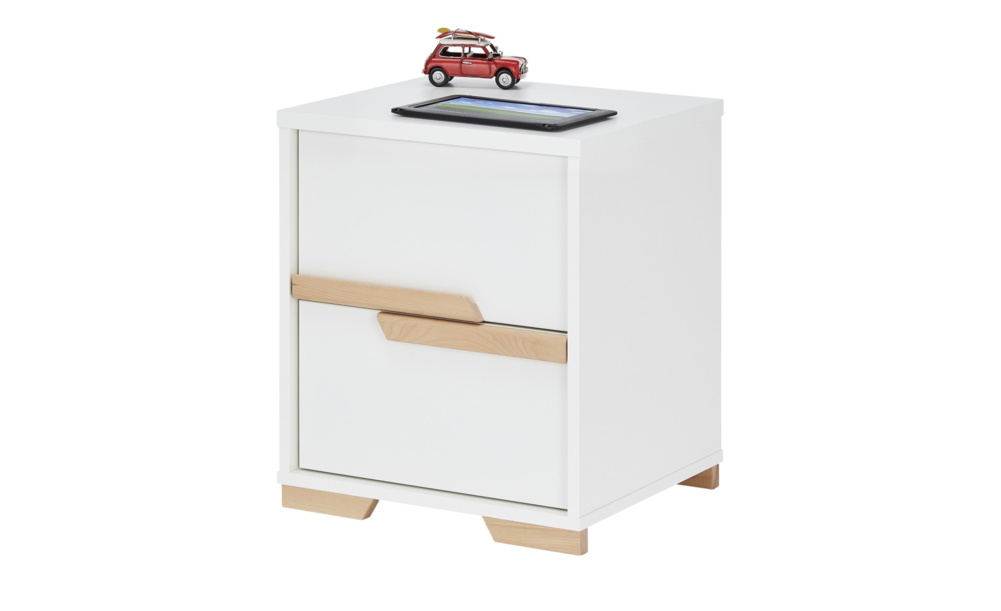 Container - weiß - 44 cm - 57 cm - 48 cm - Schränke > Rollcontainer - Möbel Kraft | Büro > Büroschränke > Rollcontainer | Möbel Kraft