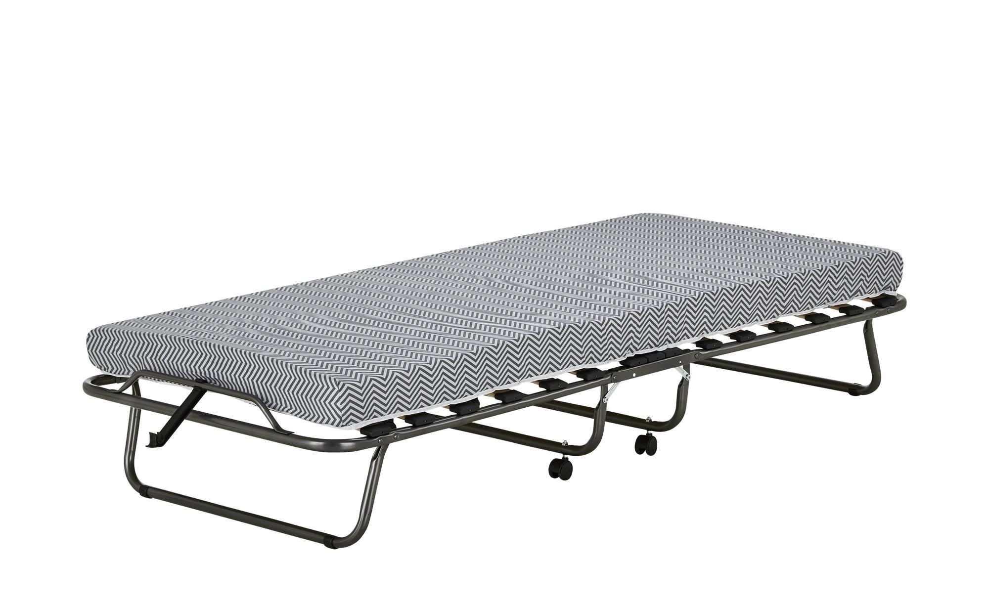 Gästebett - grau - 80 cm - 190 cm - Betten > Gästebetten - Möbel Kraft   Schlafzimmer > Betten > Gästebetten   Sconto