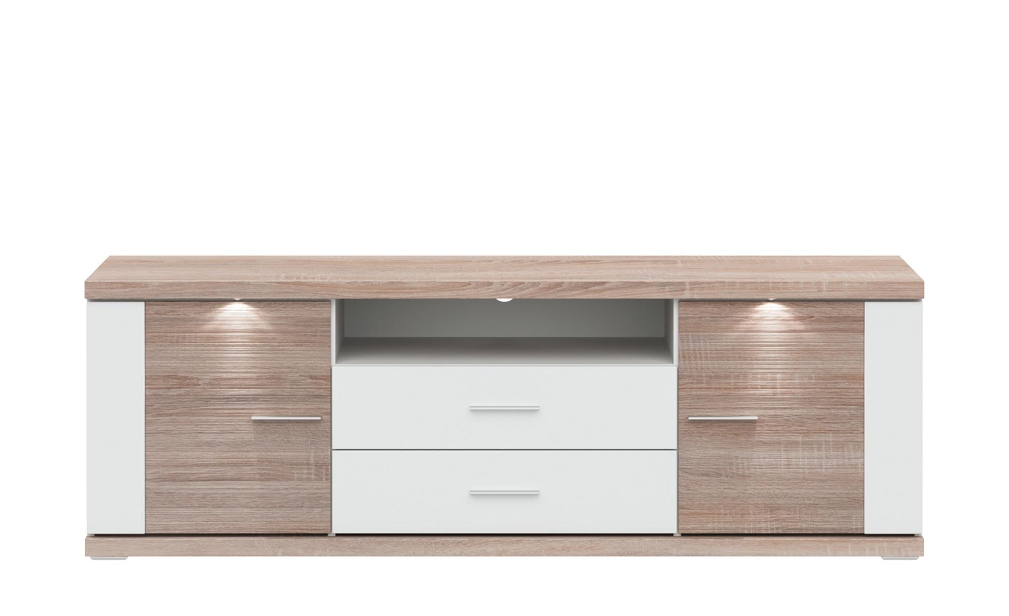 uno Lowboard   Titan - 180 cm - 60 cm - 52 cm - Kommoden & Sideboards > Lowboards - Möbel Kraft | Wohnzimmer > Schränke > Lowboards | uno
