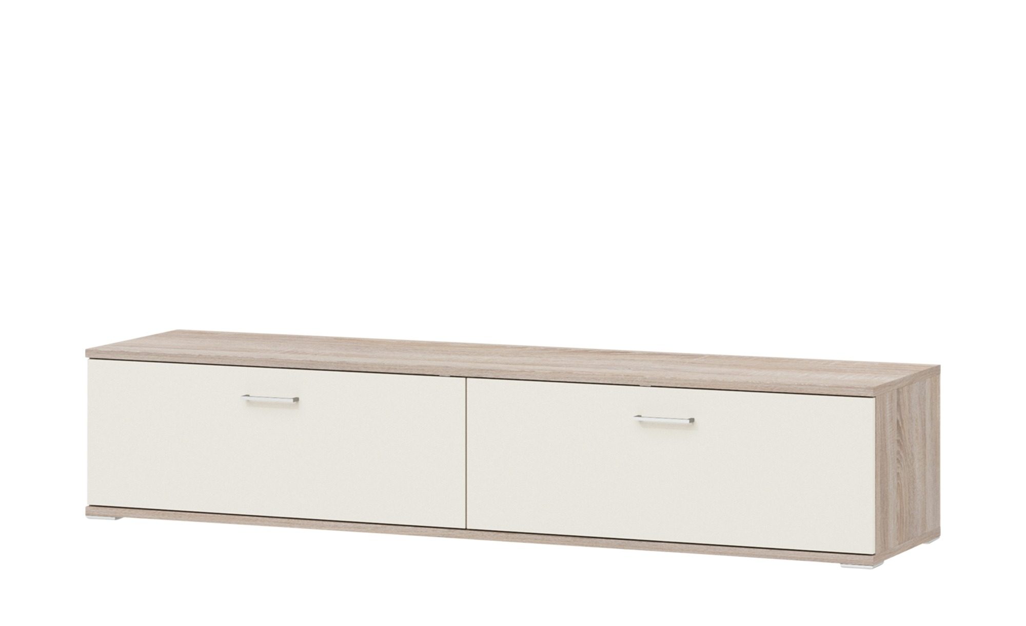 uno Lowboard  Onyx - 201 cm - 42 cm - 49 cm - Kommoden & Sideboards > Lowboards - Möbel Kraft | Wohnzimmer > Schränke > Lowboards | uno