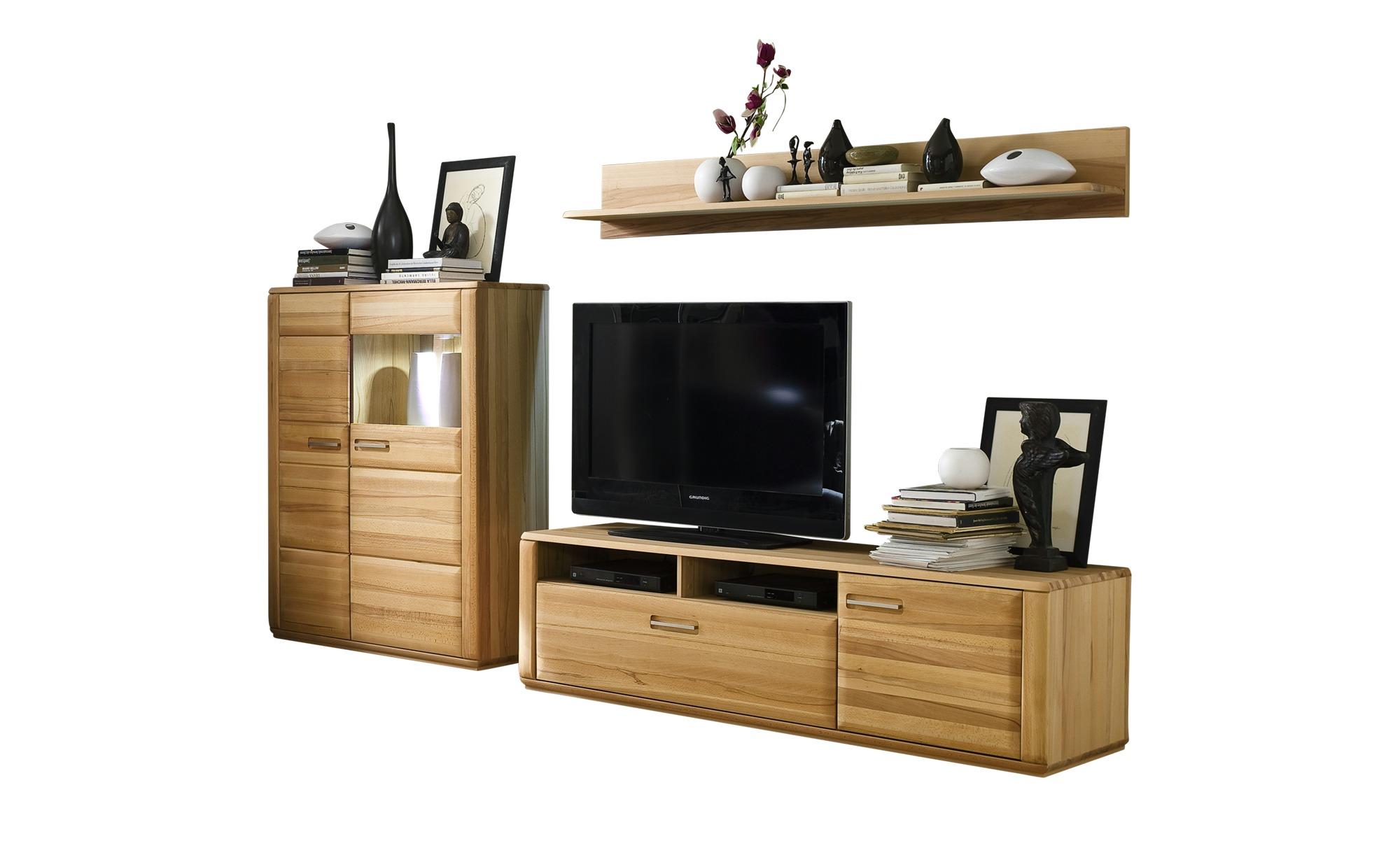 Woodford Wohnwand Dio Kernbuche Bei Möbel Kraft Online Kaufen