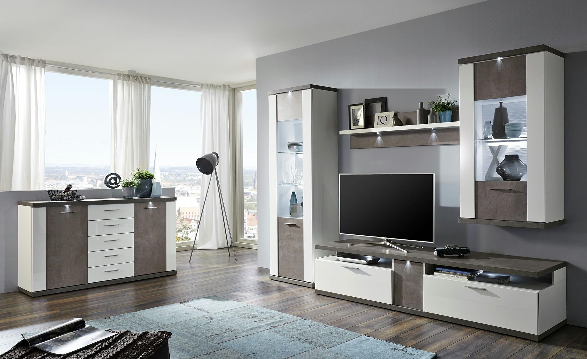 Uno Wohnwand Bolen Bei Mobel Kraft Online Kaufen