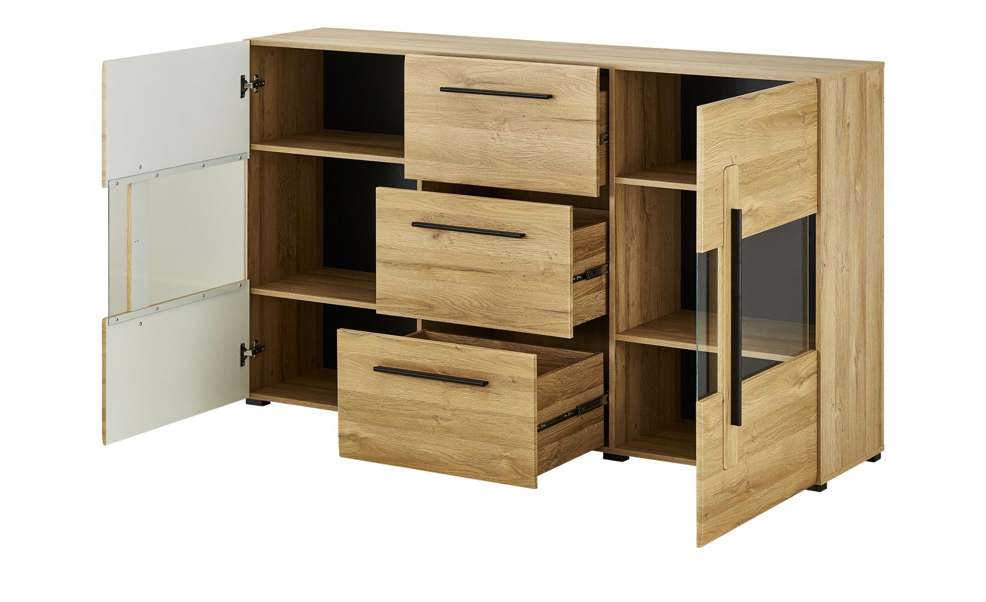 Kommode - holzfarben - 180 cm - 103 cm - 39 cm - Kommoden & Sideboards > Kommoden - Möbel Kraft | Wohnzimmer > Schränke > Sideboards | Sconto