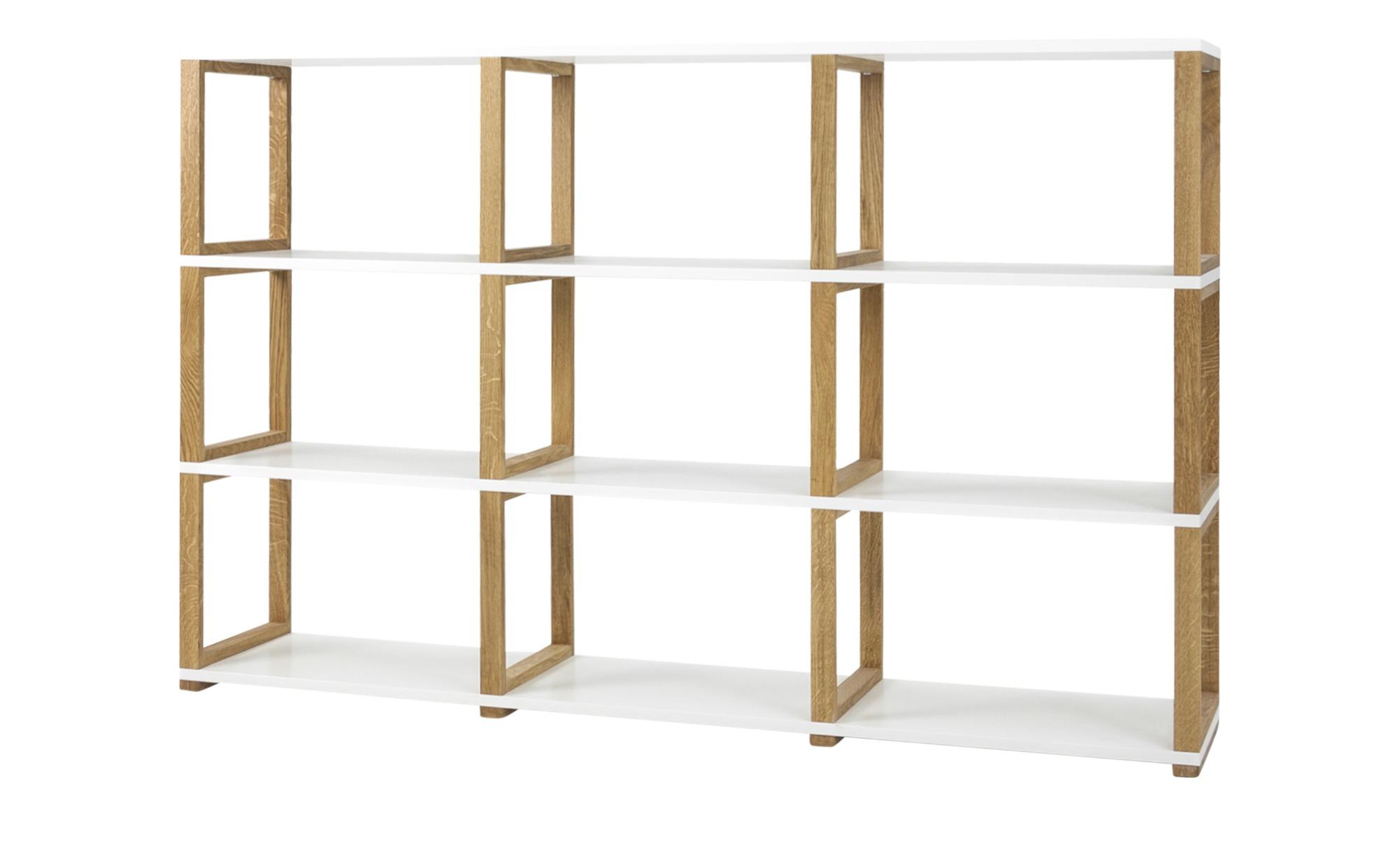 Regal - mehrfarbig - 178 cm - 118 cm - 36 cm - Regale > Büroregale - Möbel Kraft   Büro > Büroregale > Standregale   Möbel Kraft
