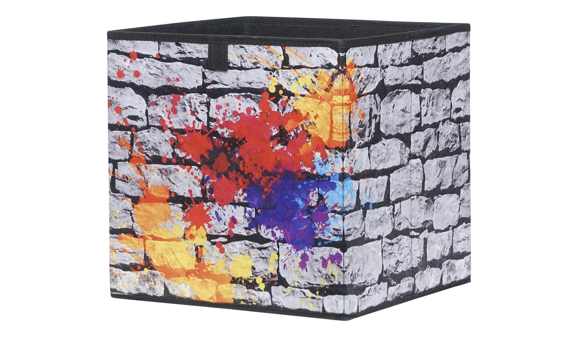 Faltbox - Polypropylen - 32 cm - 32 cm - 32 cm - Aufbewahrung > Aufbewahrungsboxen - Möbel Kraft   Dekoration > Aufbewahrung und Ordnung > Kästchen   Möbel Kraft