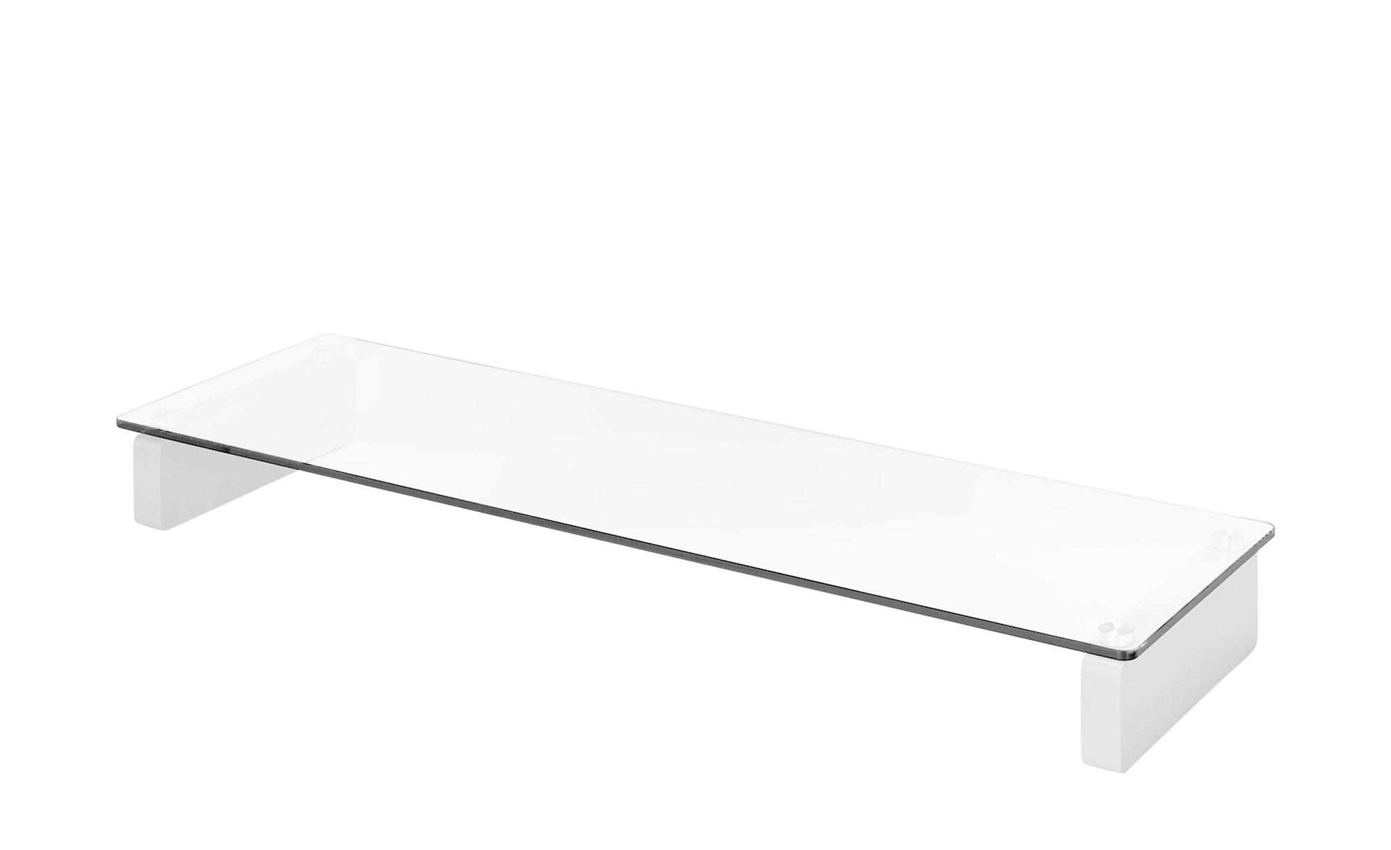TV-Aufsatz  Marburg III - weiß - 110 cm - 12,2 cm - 35 cm - TV- & Media Möbel > TV-Schränke - Möbel Kraft | Wohnzimmer > TV-HiFi-Möbel > TV-Halterungen | Sconto