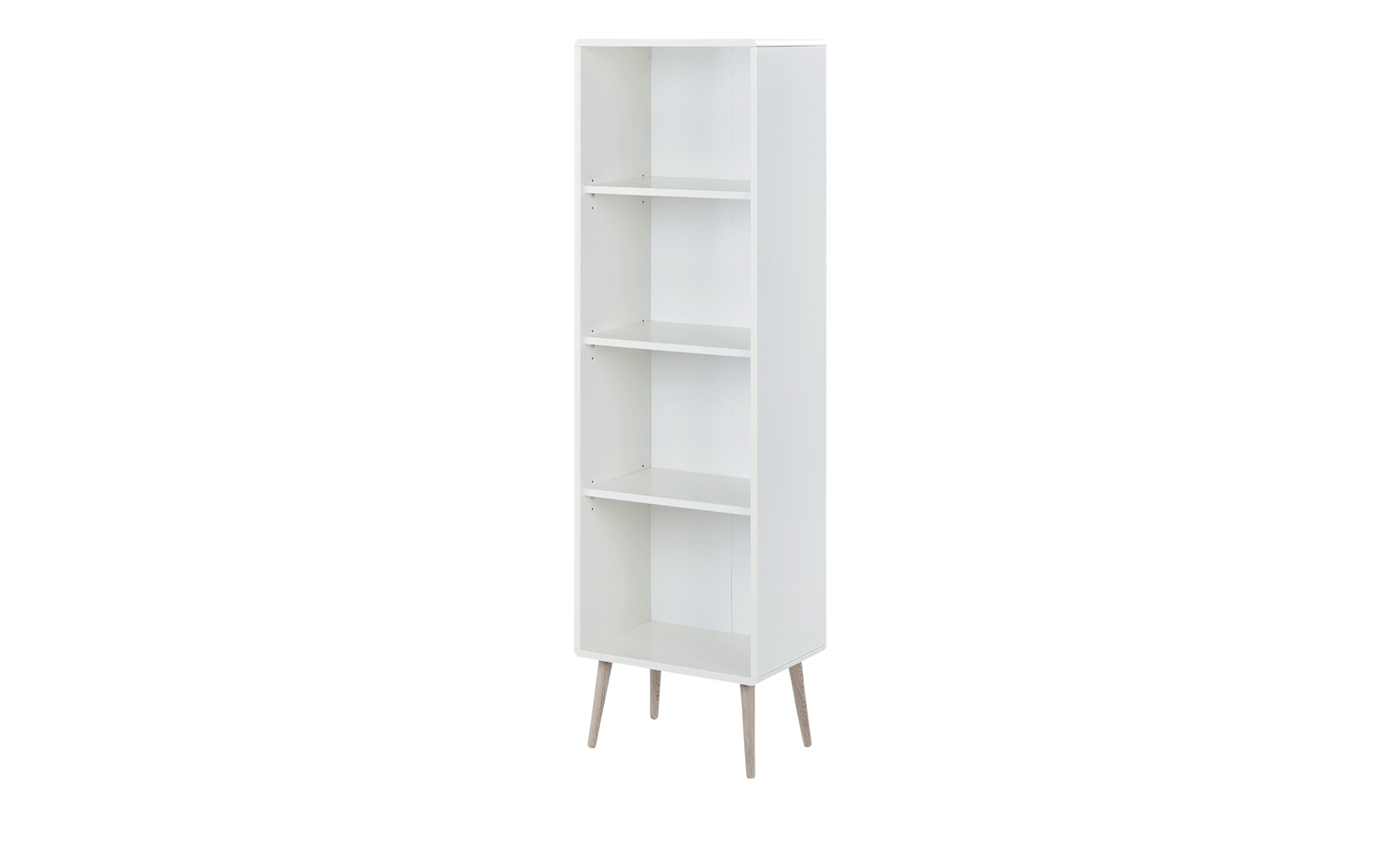 Büroregal - weiß - 49 cm - 166 cm - 33 cm - Regale > Bücherregale - Möbel Kraft | Büro > Büroregale > Standregale | Sconto
