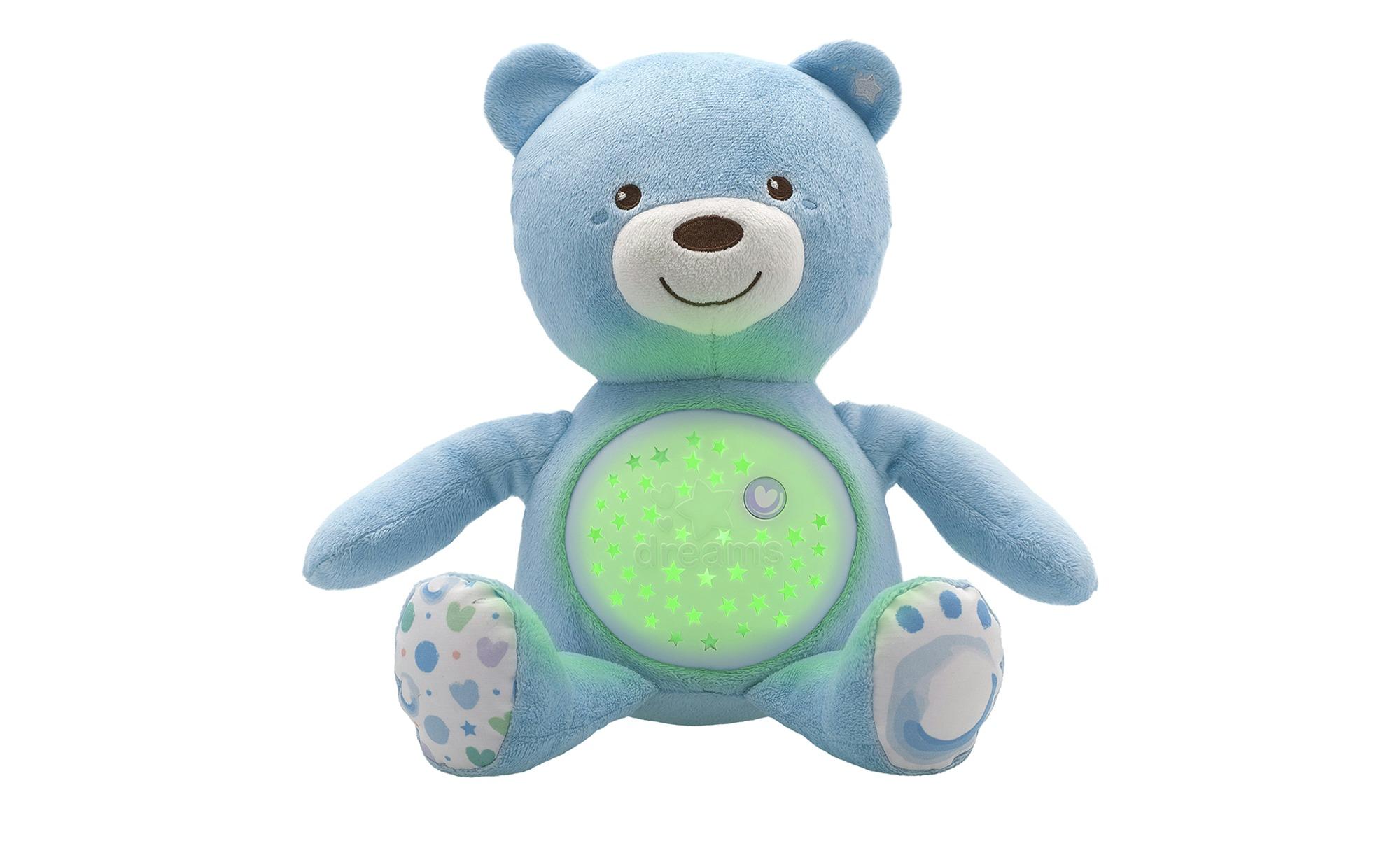 Chicco Nachtlicht  Musikalischer Baby Bär - blau - 100% Polyester - 36,5 cm - 14 cm - Baby > Spielen - Möbel Kraft | Lampen > Kinderzimmerlampen | Chicco
