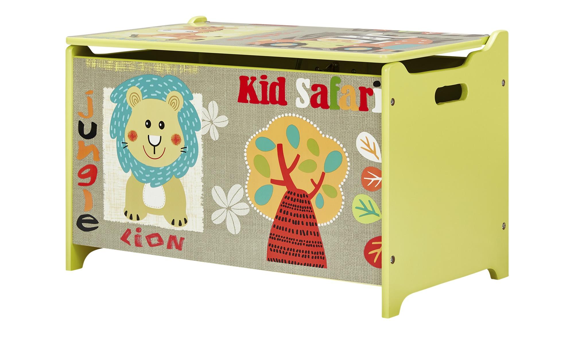 Spielzeugtruhe  Safari - mehrfarbig - 60 cm - 40 cm - 37 cm - Aufbewahrung > Truhen & Kisten - Möbel Kraft   Kinderzimmer > Spielzeuge > Spielzeugkisten   Sconto