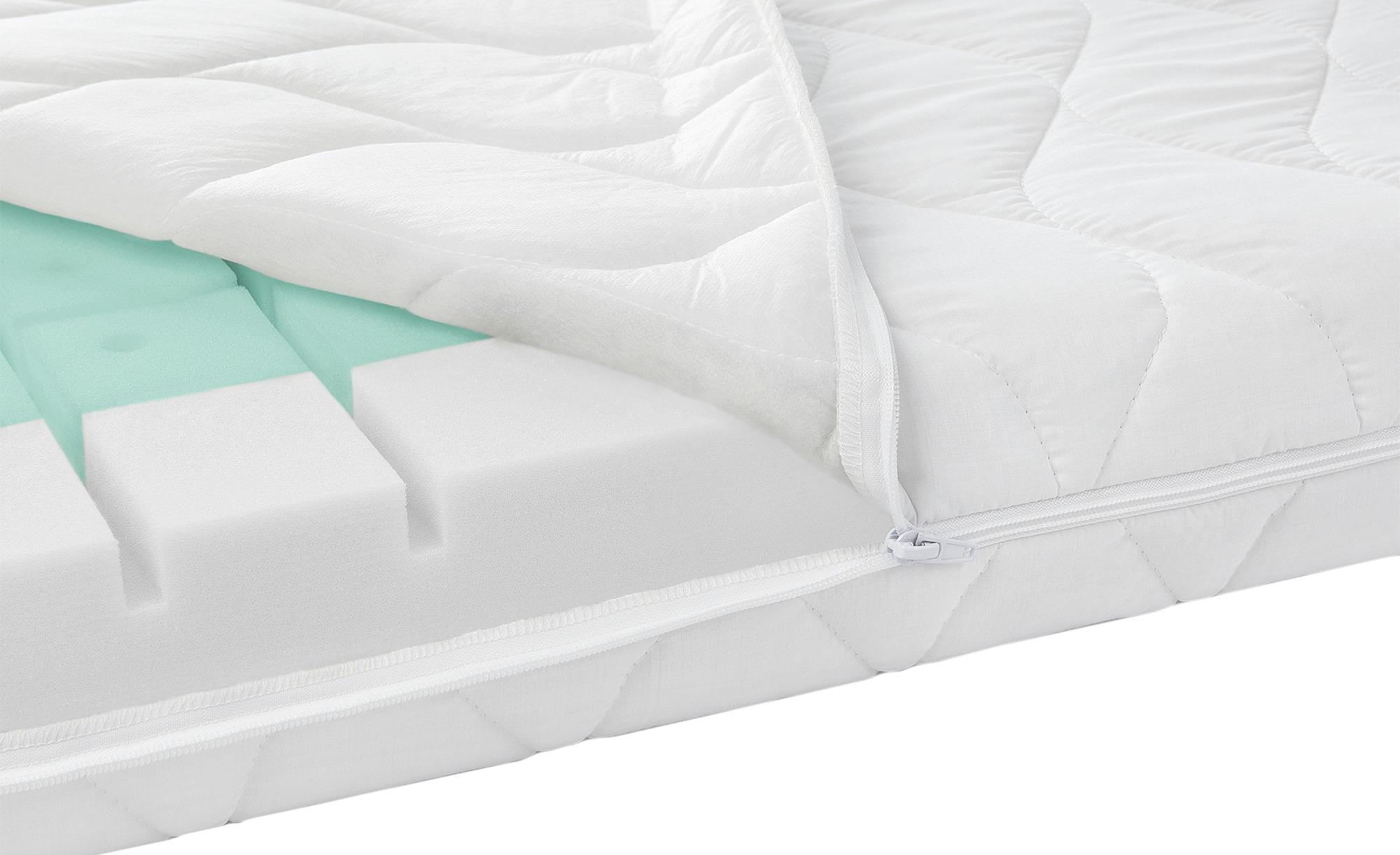 Zöllner Kinderbettmatratze  Dream - weiß - Bezug: 65% Polyester, 35% Baumwolle - 70 cm - 10 cm - Baby > Babymöbel > Babymatratzen - Möbel Kraft | Kinderzimmer > Textilien für Kinder > Kinderbettwäsche | Zöllner