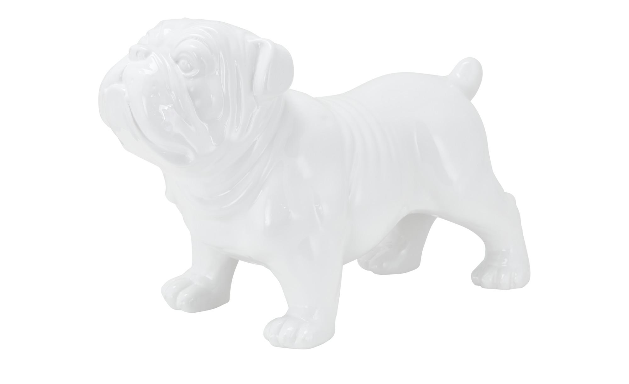 Deko Hund  Deko Hund - weiß - Dolomite - Dekoration > Dekoartikel - Möbel K günstig online kaufen