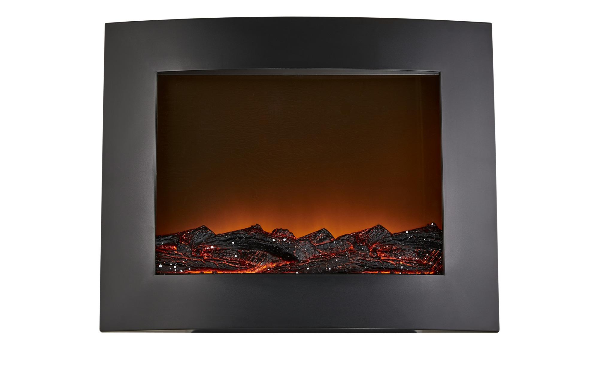LED-Kamin - schwarz - Kunststoff - 50,3 cm - 40,5 cm - 15 cm - Lampen & Leuchten > Sonstige Leuchten - Möbel Kraft | Wohnzimmer > Kamine & Öfen | Sconto