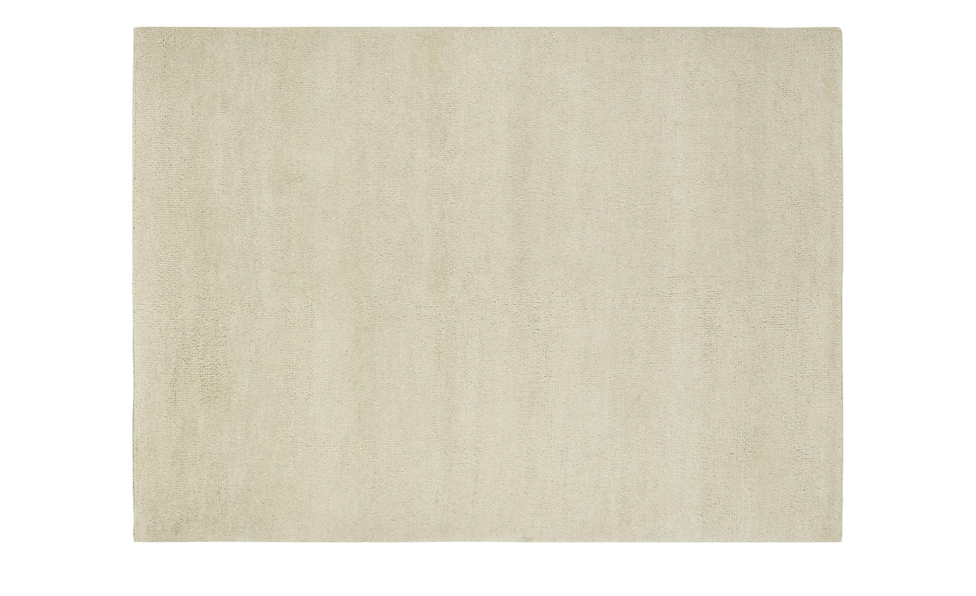 Berber-Teppich - creme - reine Wolle, Wolle - 140 cm - Teppiche > Naturteppiche - Möbel Kraft | Heimtextilien > Teppiche > Berberteppiche | Sconto