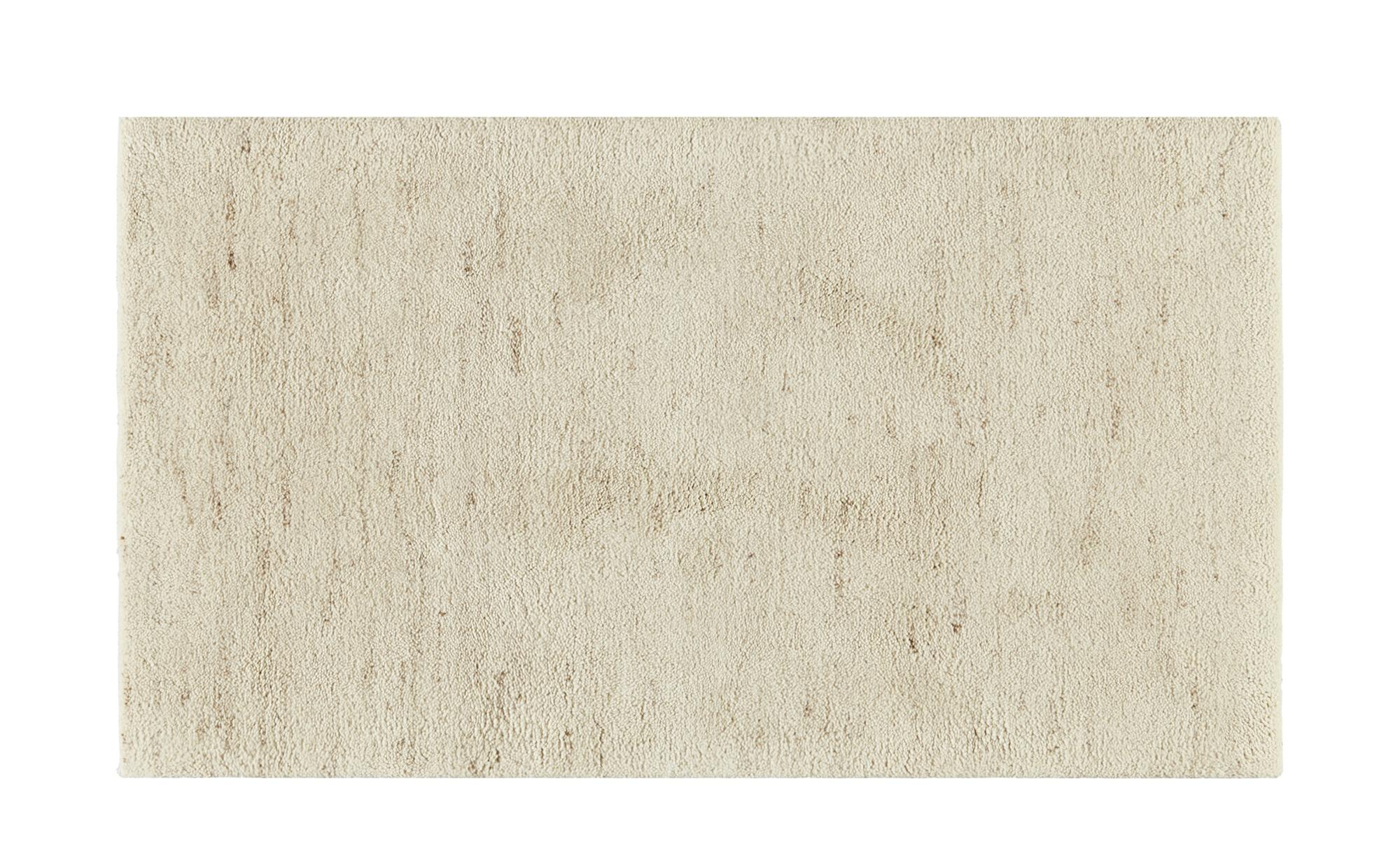 Berber-Teppich - creme - 100 % Wolle, Wolle - 70 cm - Teppiche > Wohnteppiche > Naturteppiche - Möbel Kraft | Heimtextilien > Teppiche > Berberteppiche | Sconto