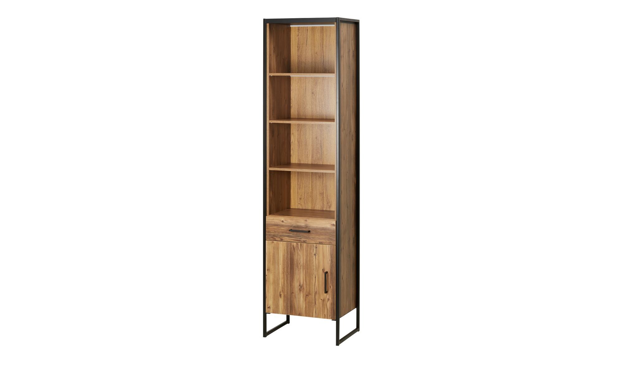 Regal - holzfarben - 54 cm - 211 cm - 40 cm - Regale > Bücherregale - Möbel Kraft | Wohnzimmer > Regale | Möbel Kraft