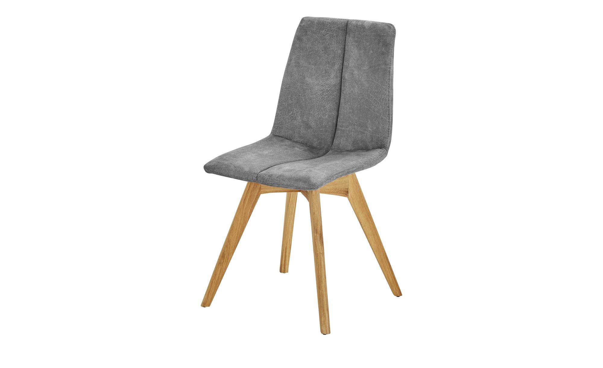Woodford Polsterstuhl Marven grau 47 cm 87 cm 52 cm Stühle > Esszimmerstühle Möbel Kraft