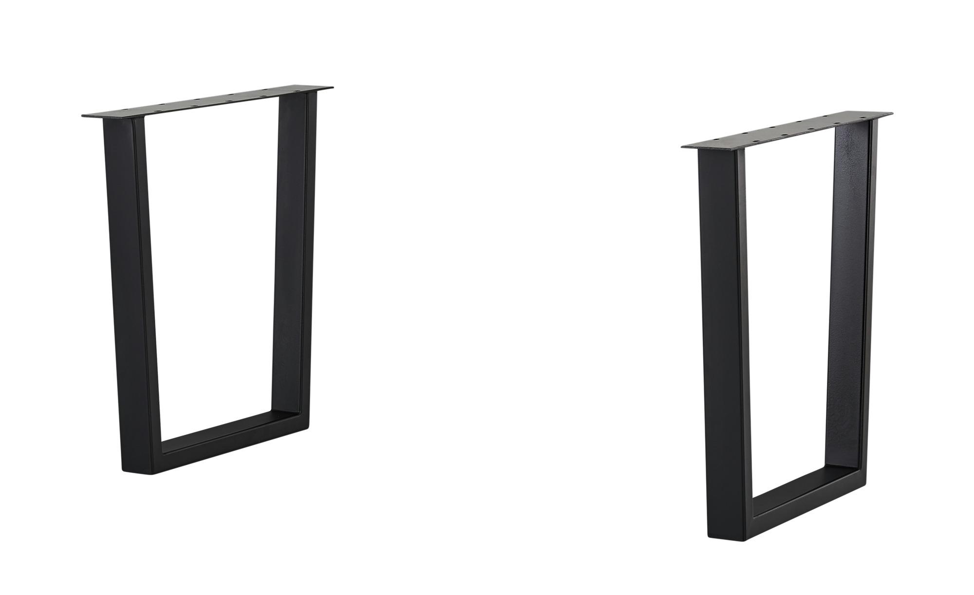 Tischgestell - schwarz - 74 cm - Tische > Tischbeine - Möbel Kraft   Wohnzimmer > Tische > Weitere Tische   Möbel Kraft