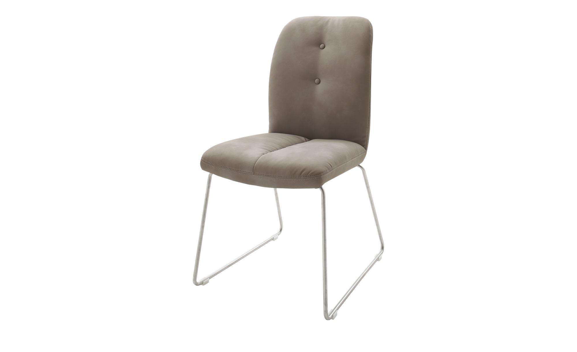 Stuhl braun 51 cm 101 cm 60 cm Stühle > Esszimmerstühle Möbel Kraft