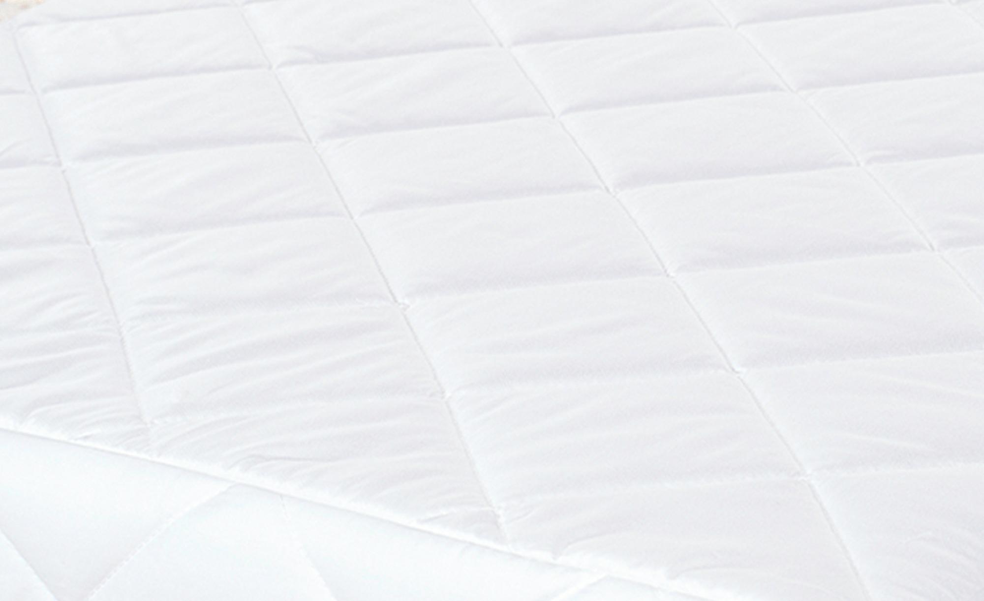 Alvi KIndermatratze   MOON - weiß - Unterseite: 100% Baumwolle gewebt , Oberseite: 100% Baumwolle versteppt - 70 cm - 10 cm - Baby > Babymöbel > Babymatratzen - Möbel Kraft | Kinderzimmer > Textilien für Kinder > Kinderbettwäsche | Baumwolle | Alvi