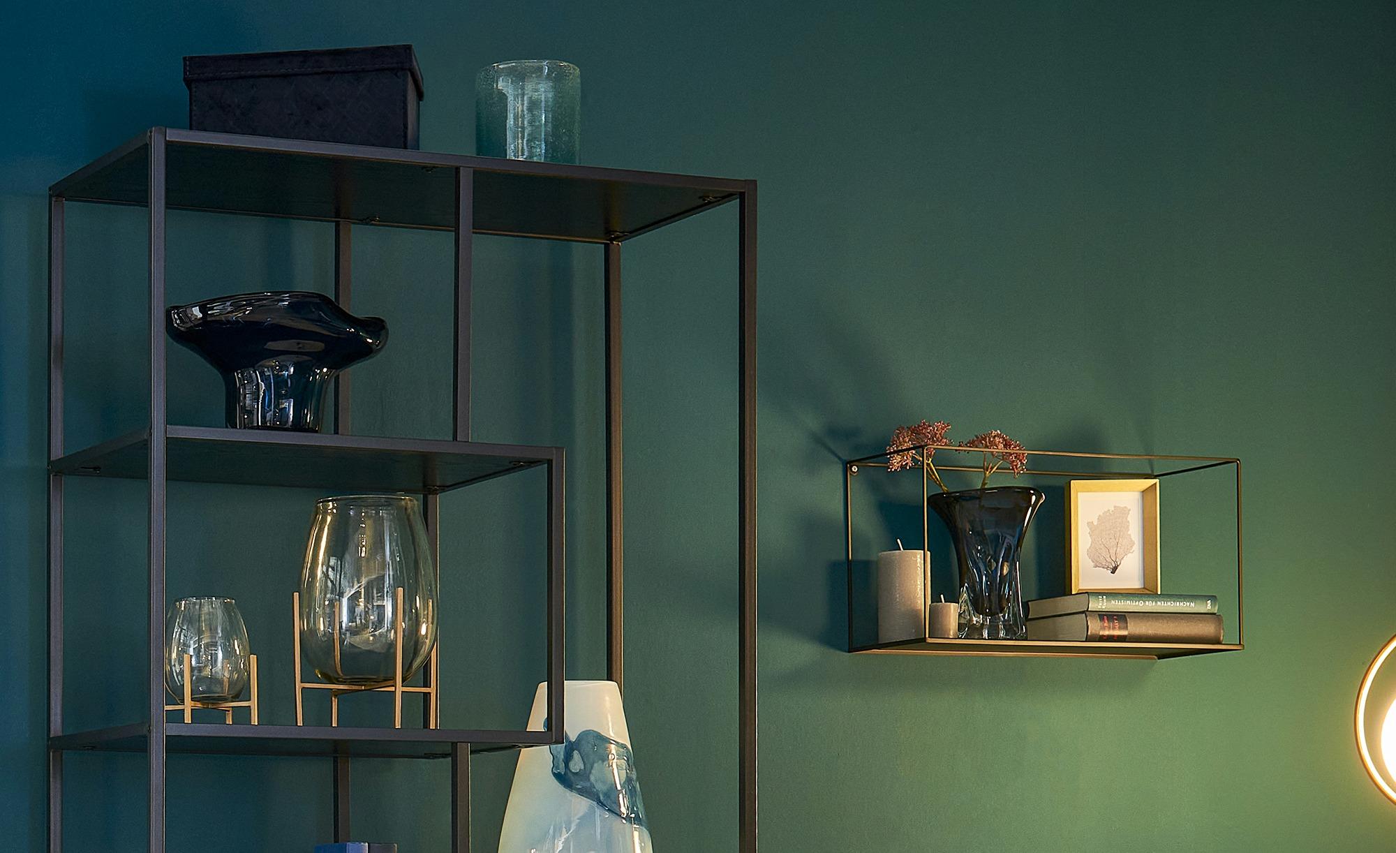 Peill+Putzler Deko Schale - blau - Glas - 28 cm - 17,5 cm - 17,5 cm - Dekor günstig online kaufen
