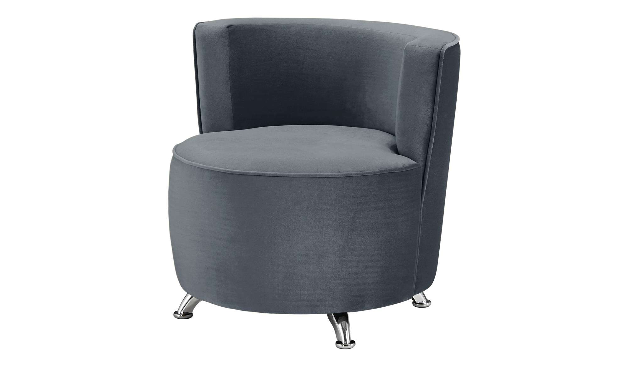smart Sessel - grau - 76 cm - 71 cm - 74 cm - Polstermöbel > Sessel > Cocktailsessel - Möbel Kraft | Wohnzimmer > Sessel > Cocktailsessel & Clubsessel | smart