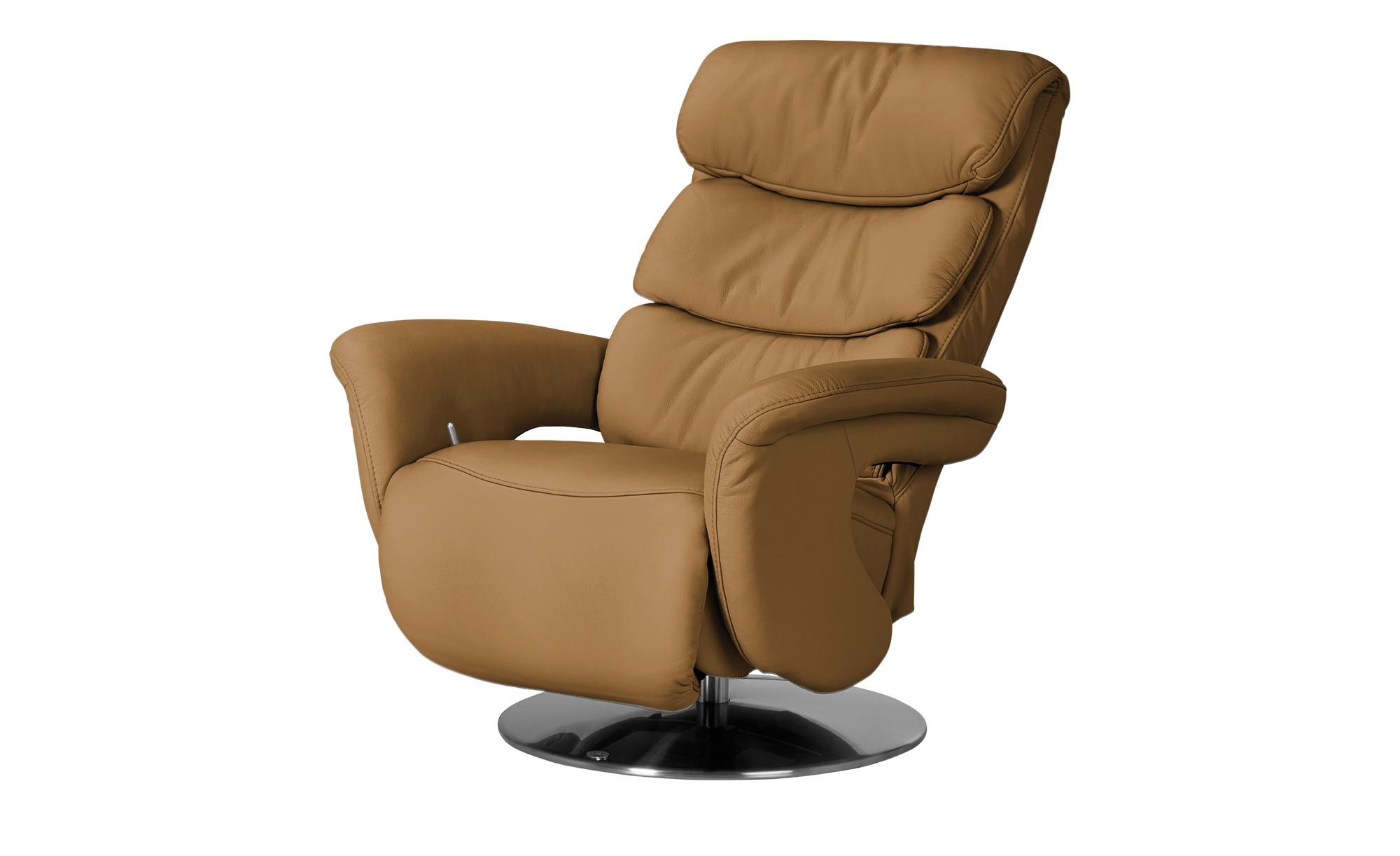 himolla Leder Relaxsessel  7228 - gelb - 83 cm - 109 cm - 90 cm - Polstermöbel > Sessel > Fernsehsessel - Möbel Kraft | Wohnzimmer > Sessel > Relaxsessel | himolla