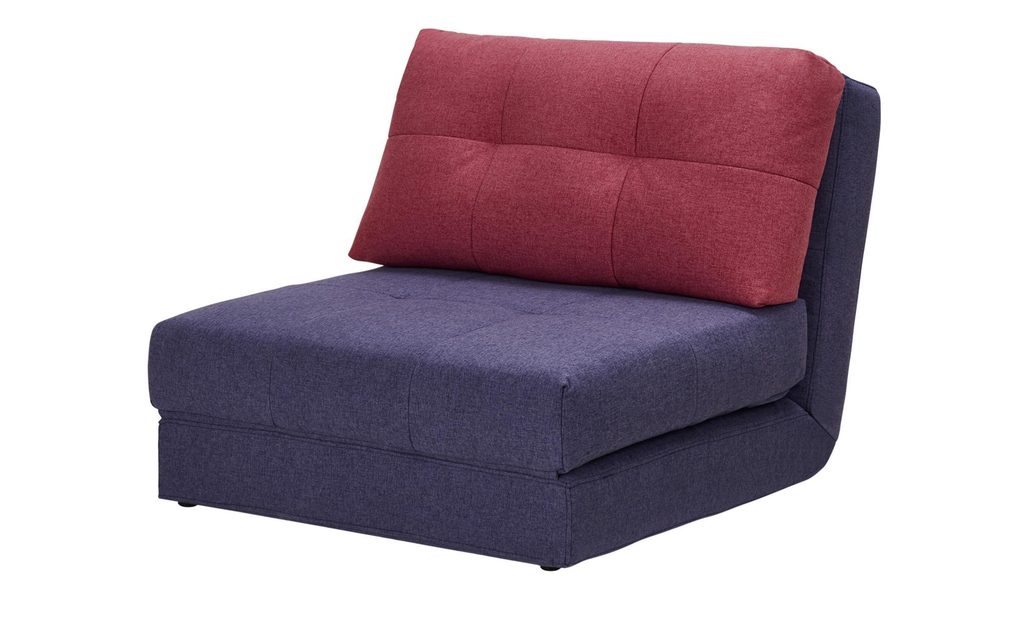 Schlafsessel - lila/violett - 90 cm - 72 cm - 80 cm - Polstermöbel > Sessel > Polstersessel - Möbel Kraft | Schlafzimmer > Schlafsofas > Schlafsessel | Sconto