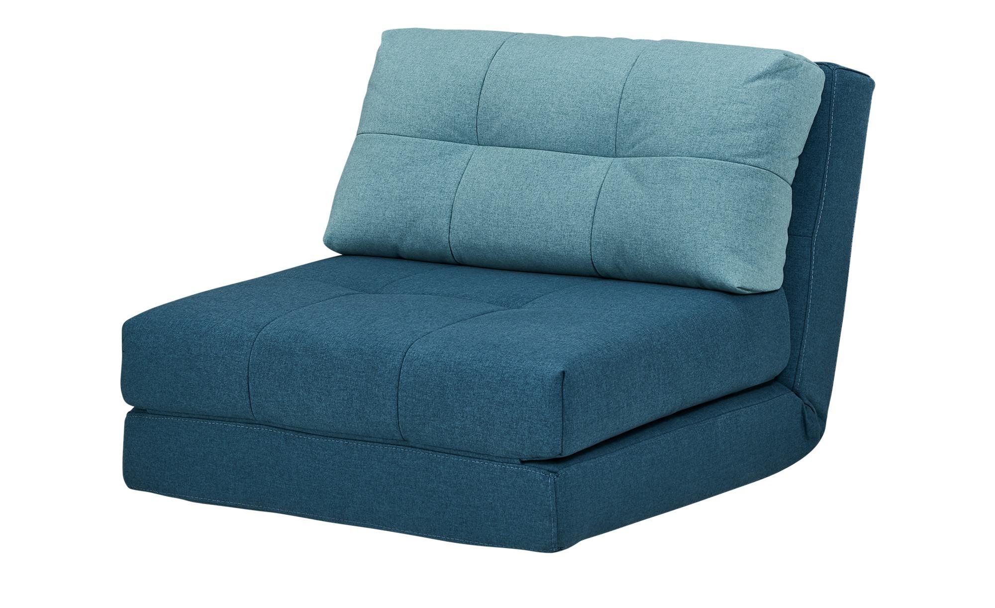 Schlafsessel - türkis/petrol - 90 cm - 72 cm - 80 cm - Polstermöbel > Sessel > Polstersessel - Möbel Kraft | Schlafzimmer > Schlafsofas > Schlafsessel | Sconto