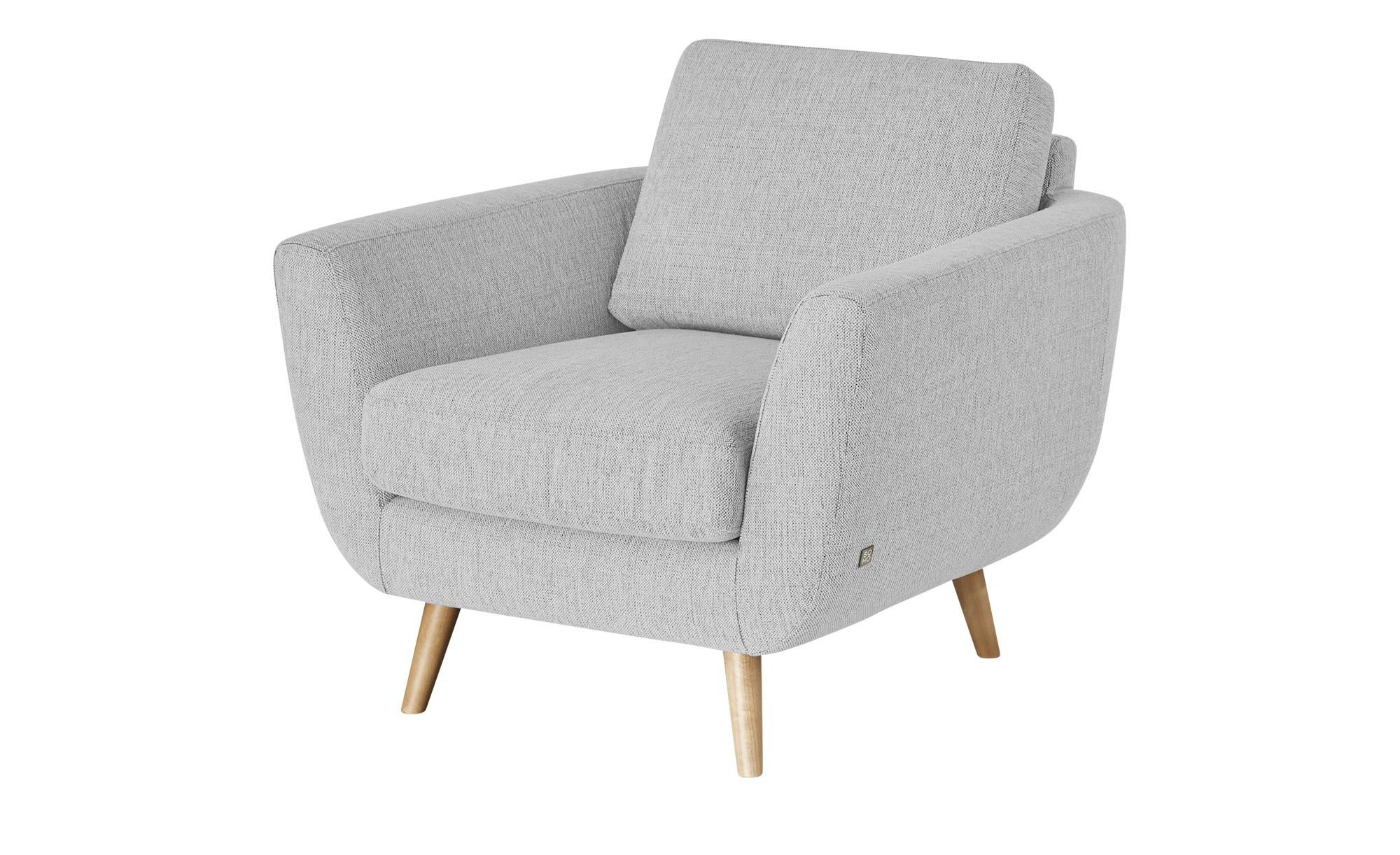 SOHO Sessel - grau - 94 cm - 85 cm - 93 cm - Polstermöbel > Sessel > Ohrensessel - Möbel Kraft | Wohnzimmer > Sessel > Ohrensessel | SOHO