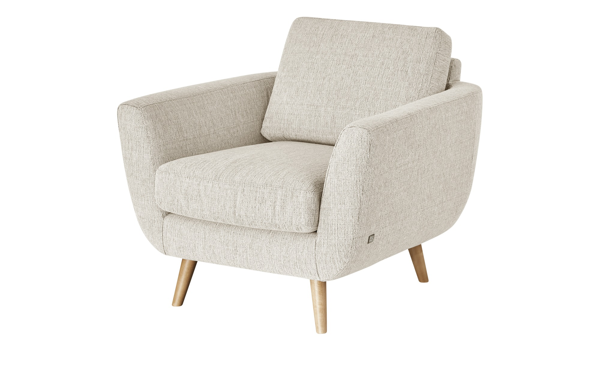 SOHO Sessel - beige - 94 cm - 85 cm - 93 cm - Polstermöbel > Sessel > Ohrensessel - Möbel Kraft | Wohnzimmer > Sessel > Ohrensessel | SOHO