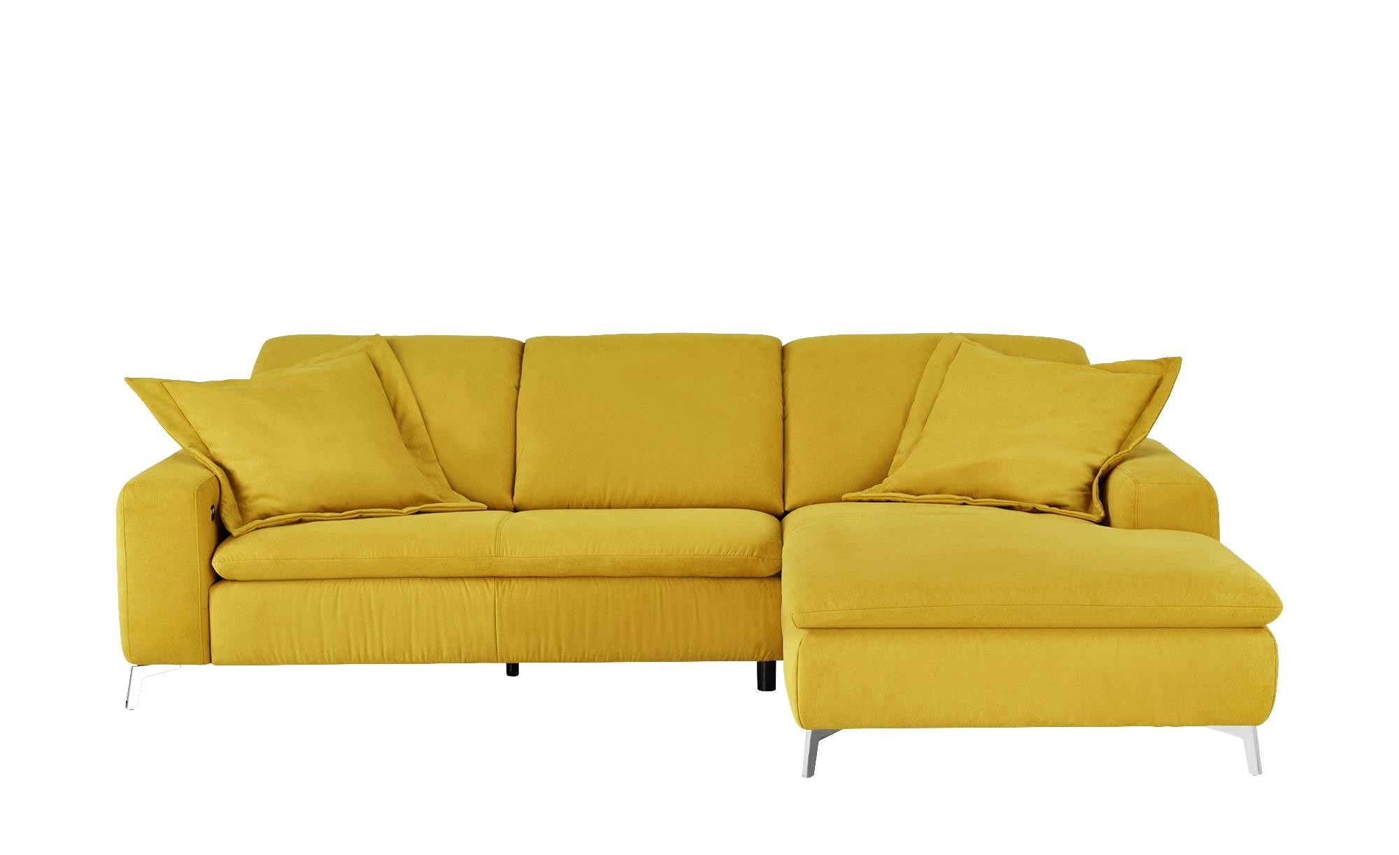 ecksofa gelb gelb 270 cm 191 cm polsterm bel. Black Bedroom Furniture Sets. Home Design Ideas