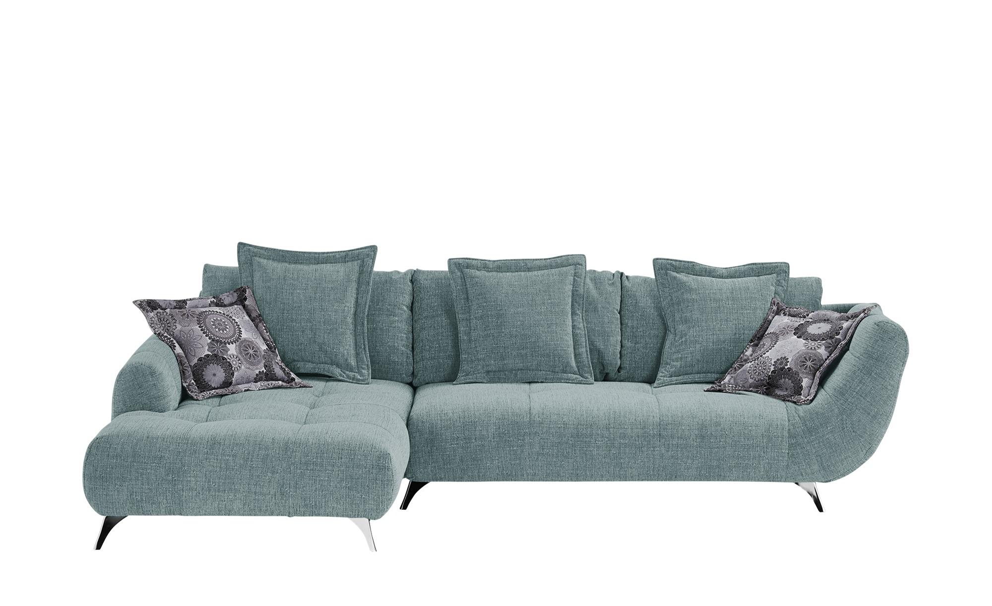 bobb Ecksofa - blau - 90 cm - Polstermöbel > Sofas > Ecksofas - Möbel Kraft   Wohnzimmer > Sofas & Couches   bobb